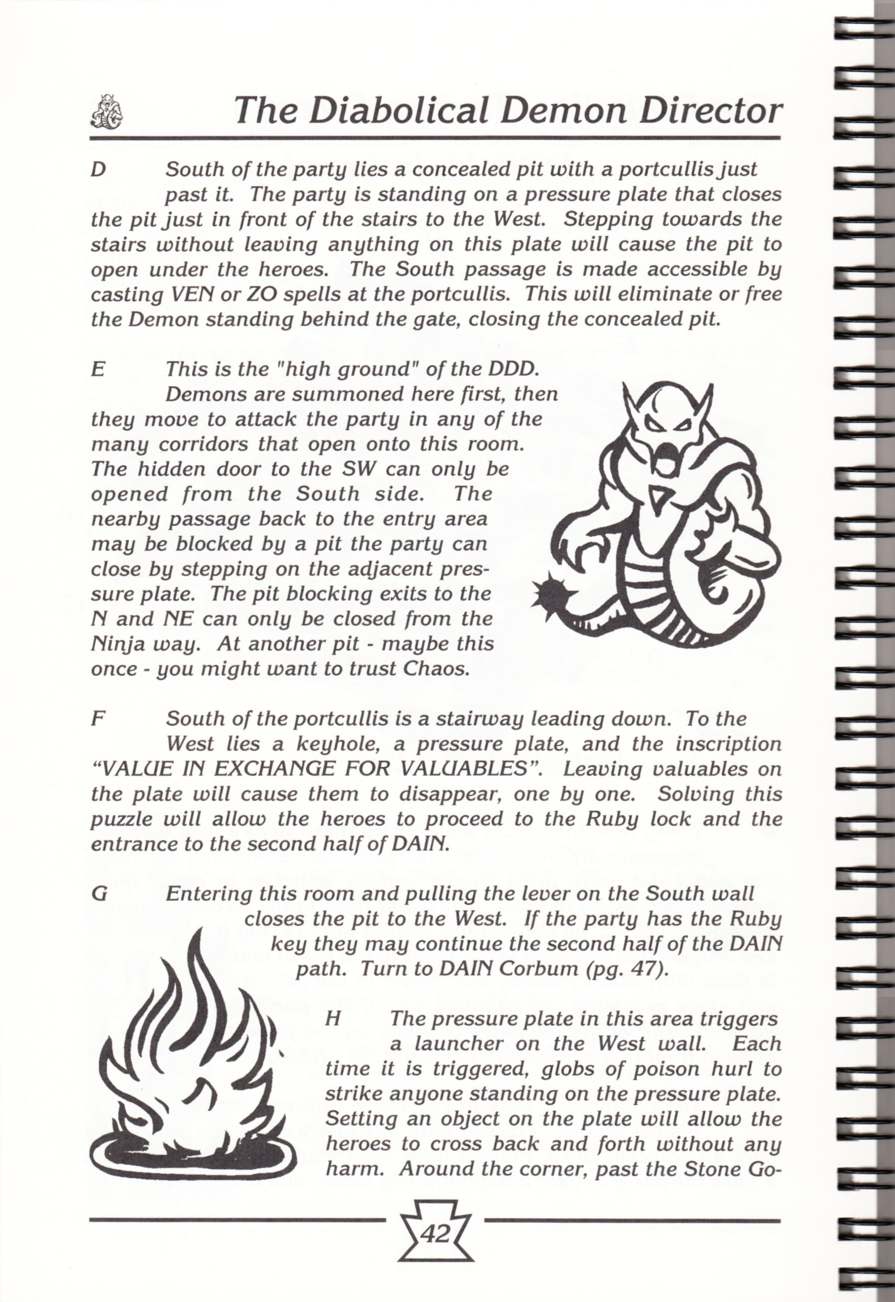 Hint Book - Chaos Strikes Back Adventurer's Handbook - US - Page 048 - Scan