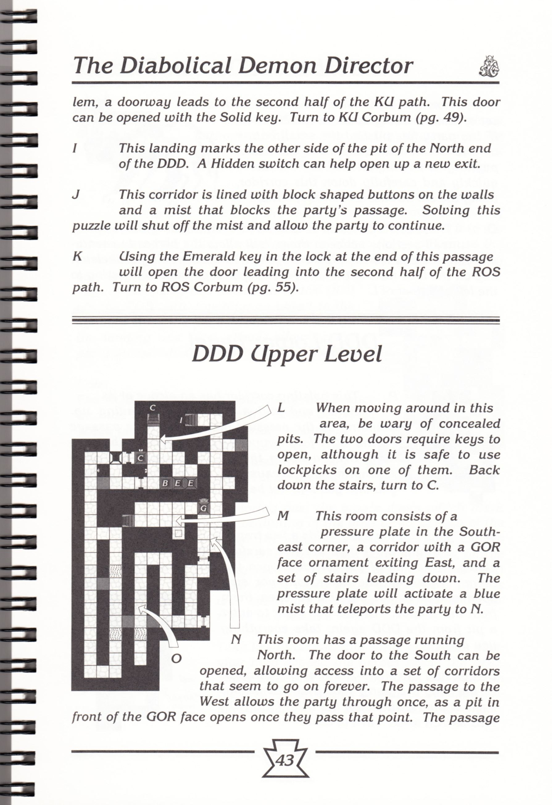 Hint Book - Chaos Strikes Back Adventurer's Handbook - US - Page 049 - Scan