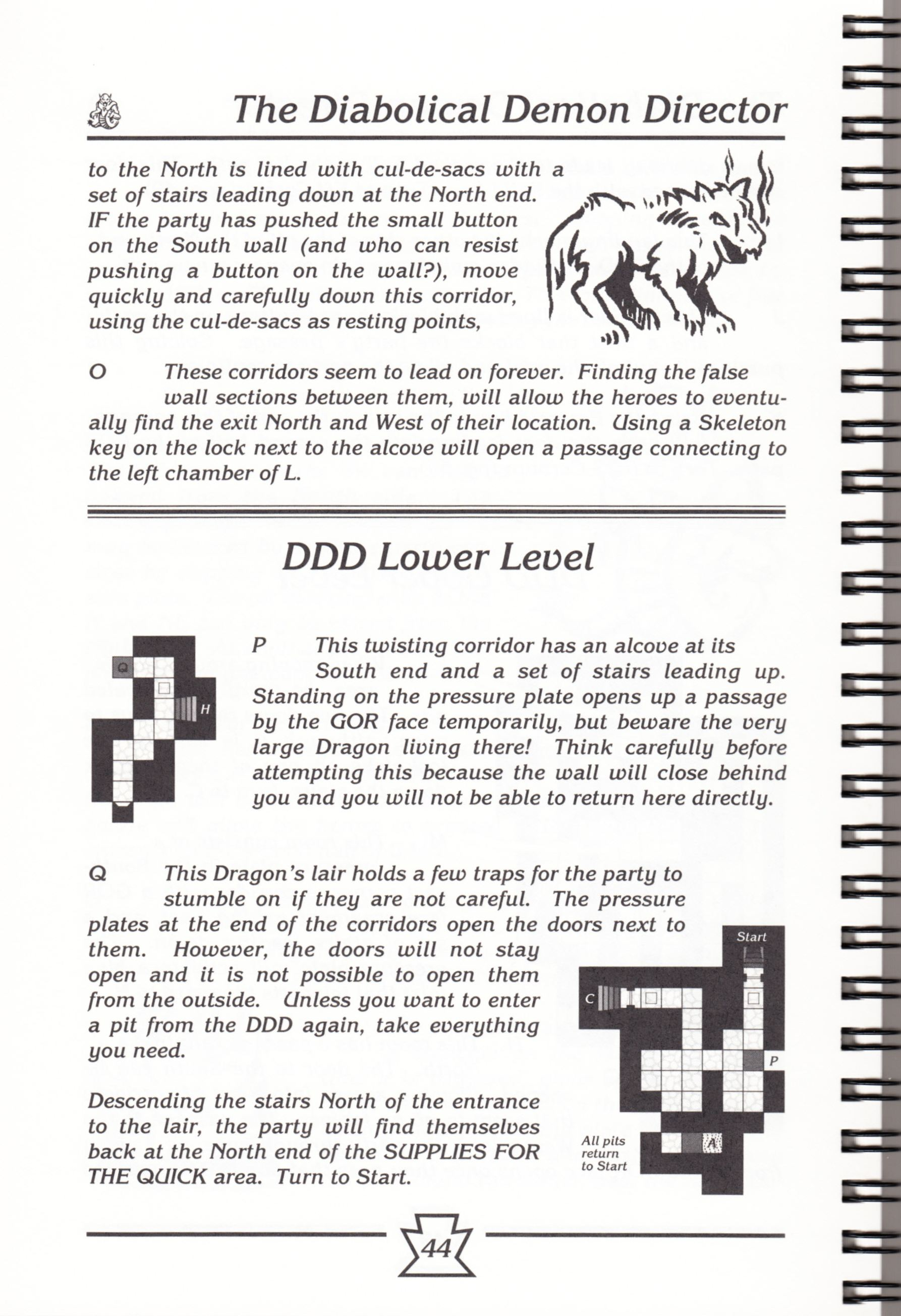 Hint Book - Chaos Strikes Back Adventurer's Handbook - US - Page 050 - Scan