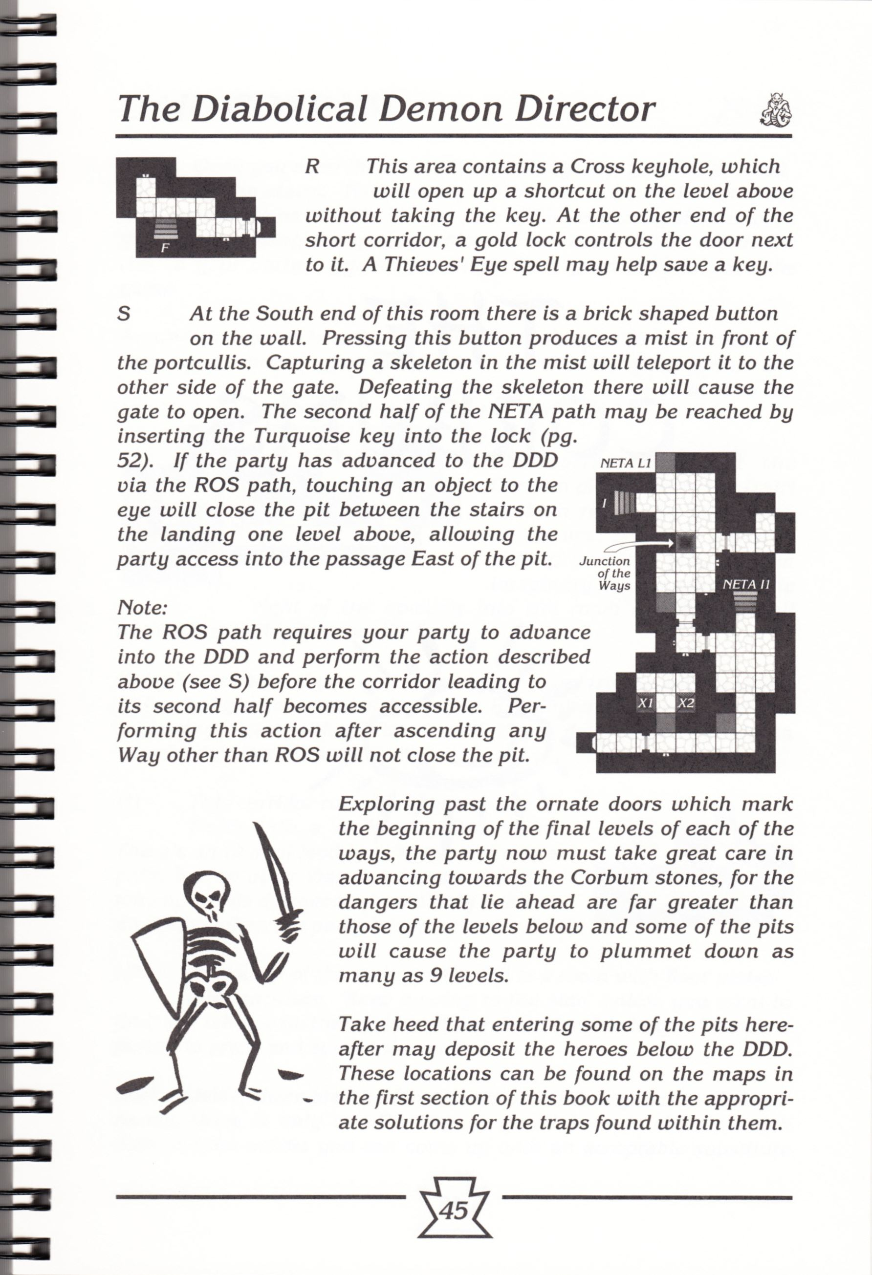 Hint Book - Chaos Strikes Back Adventurer's Handbook - US - Page 051 - Scan