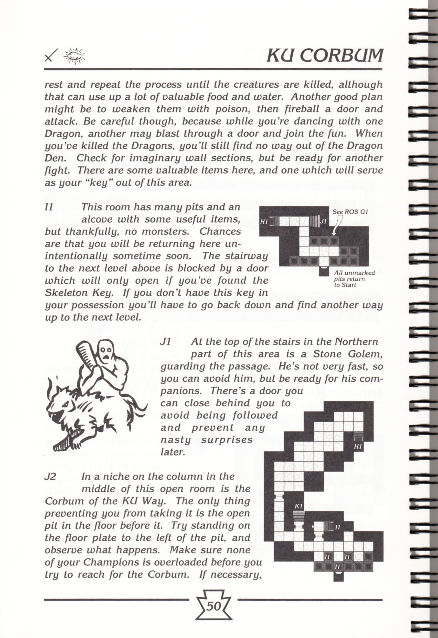 Hint Book - Chaos Strikes Back Adventurer's Handbook - US - Page 056 - Scan