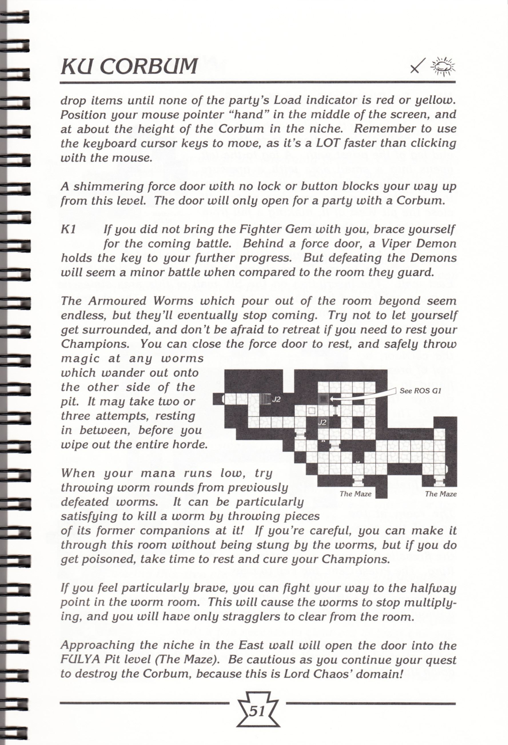 Hint Book - Chaos Strikes Back Adventurer's Handbook - US - Page 057 - Scan