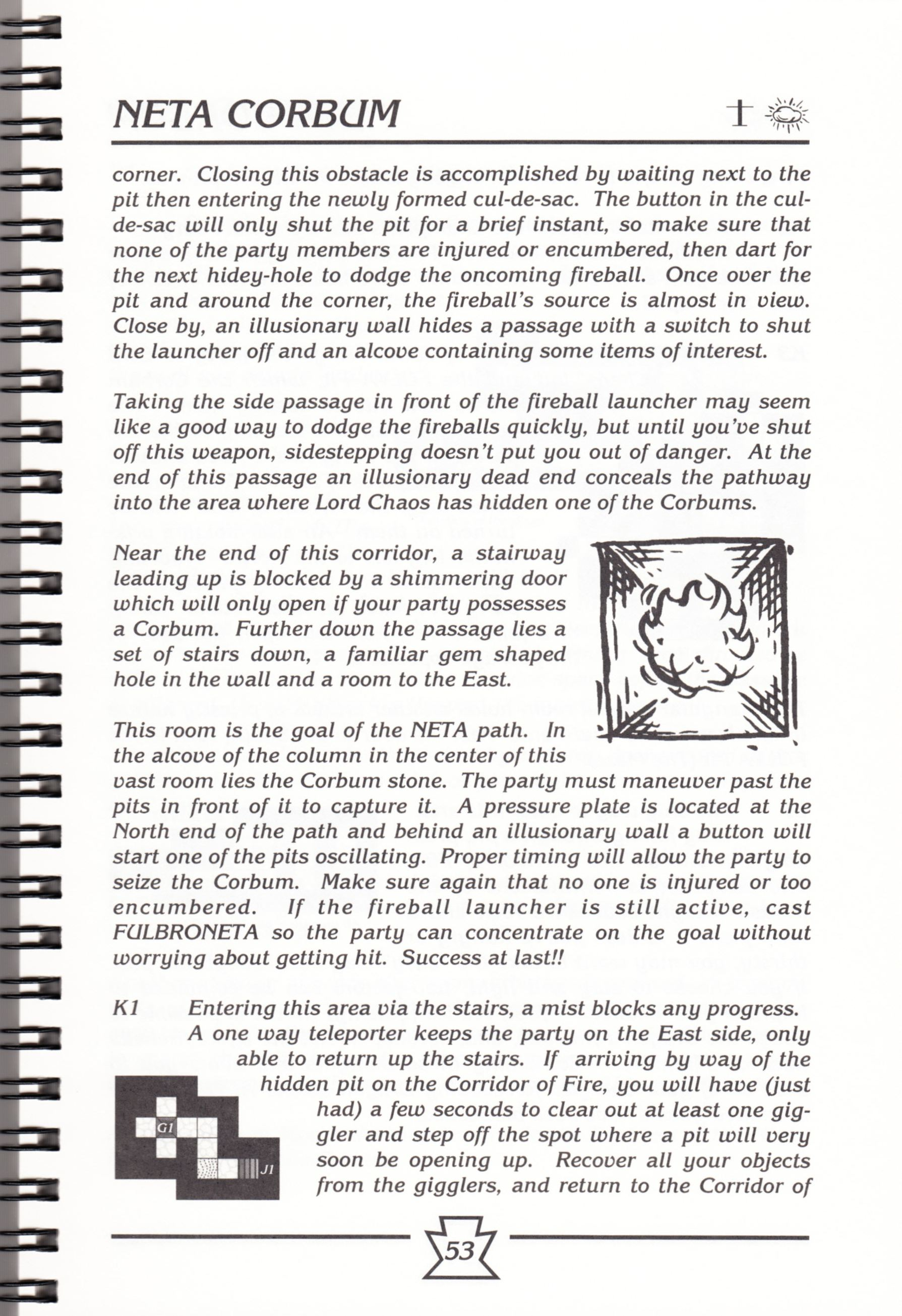 Hint Book - Chaos Strikes Back Adventurer's Handbook - US - Page 059 - Scan