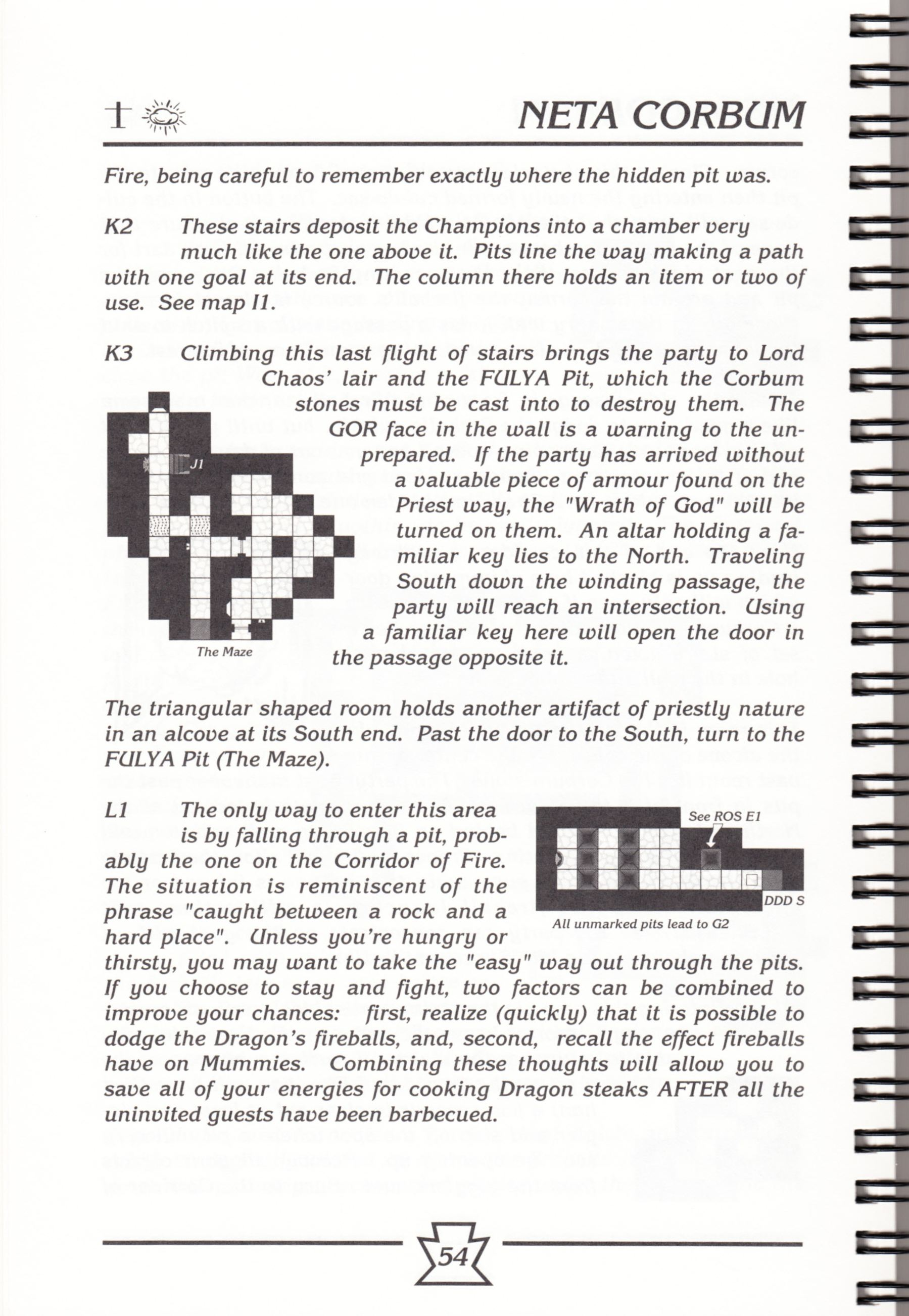 Hint Book - Chaos Strikes Back Adventurer's Handbook - US - Page 060 - Scan