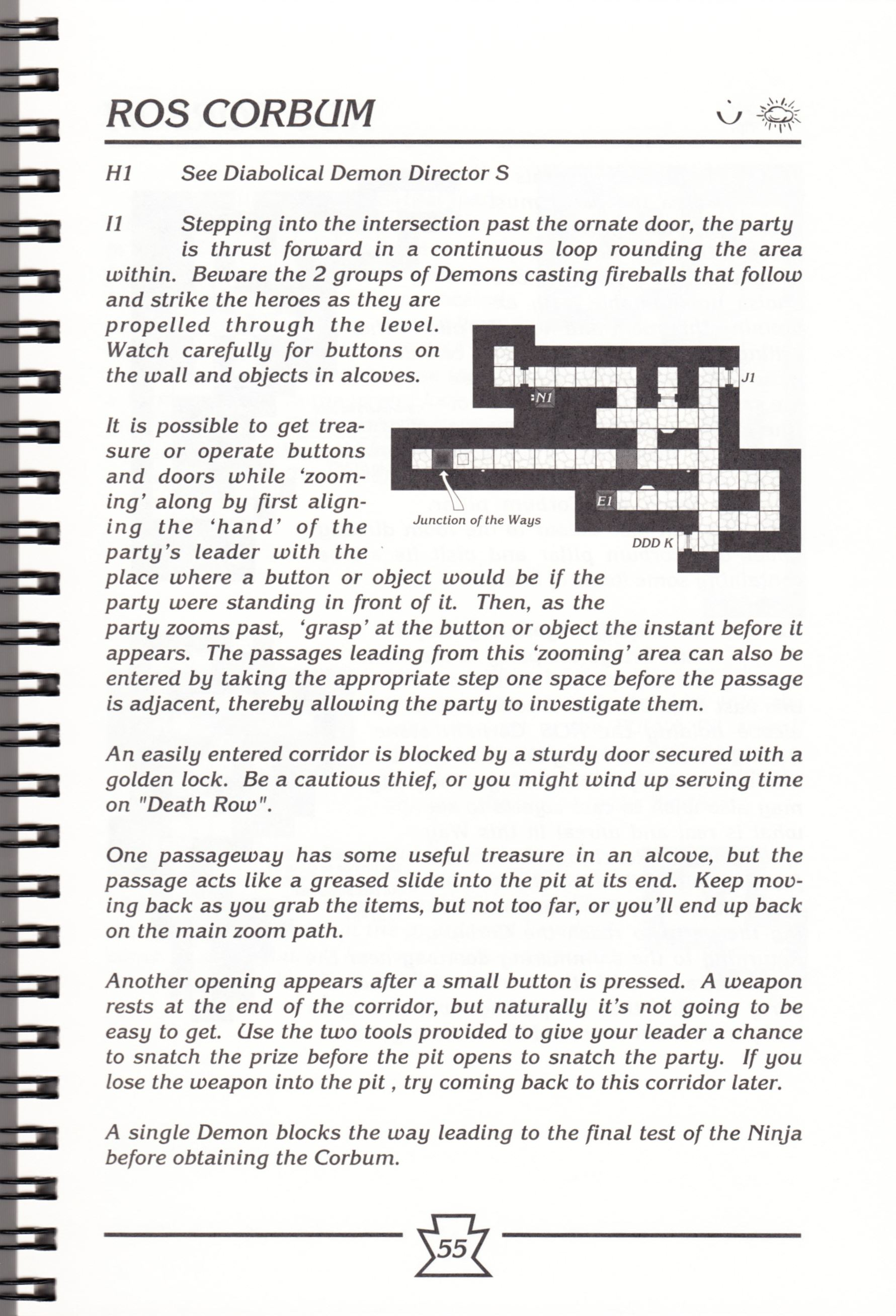 Hint Book - Chaos Strikes Back Adventurer's Handbook - US - Page 061 - Scan