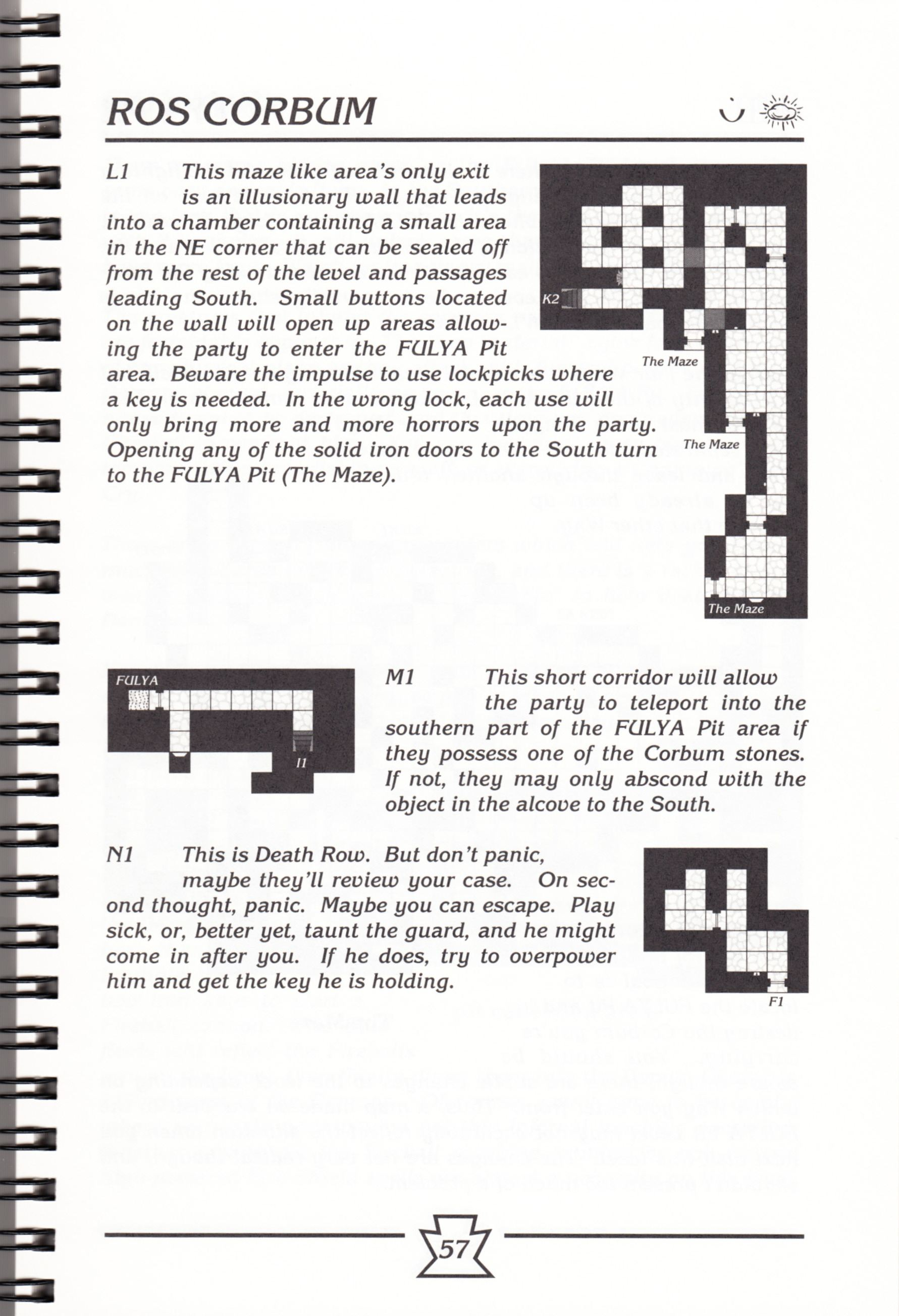 Hint Book - Chaos Strikes Back Adventurer's Handbook - US - Page 063 - Scan