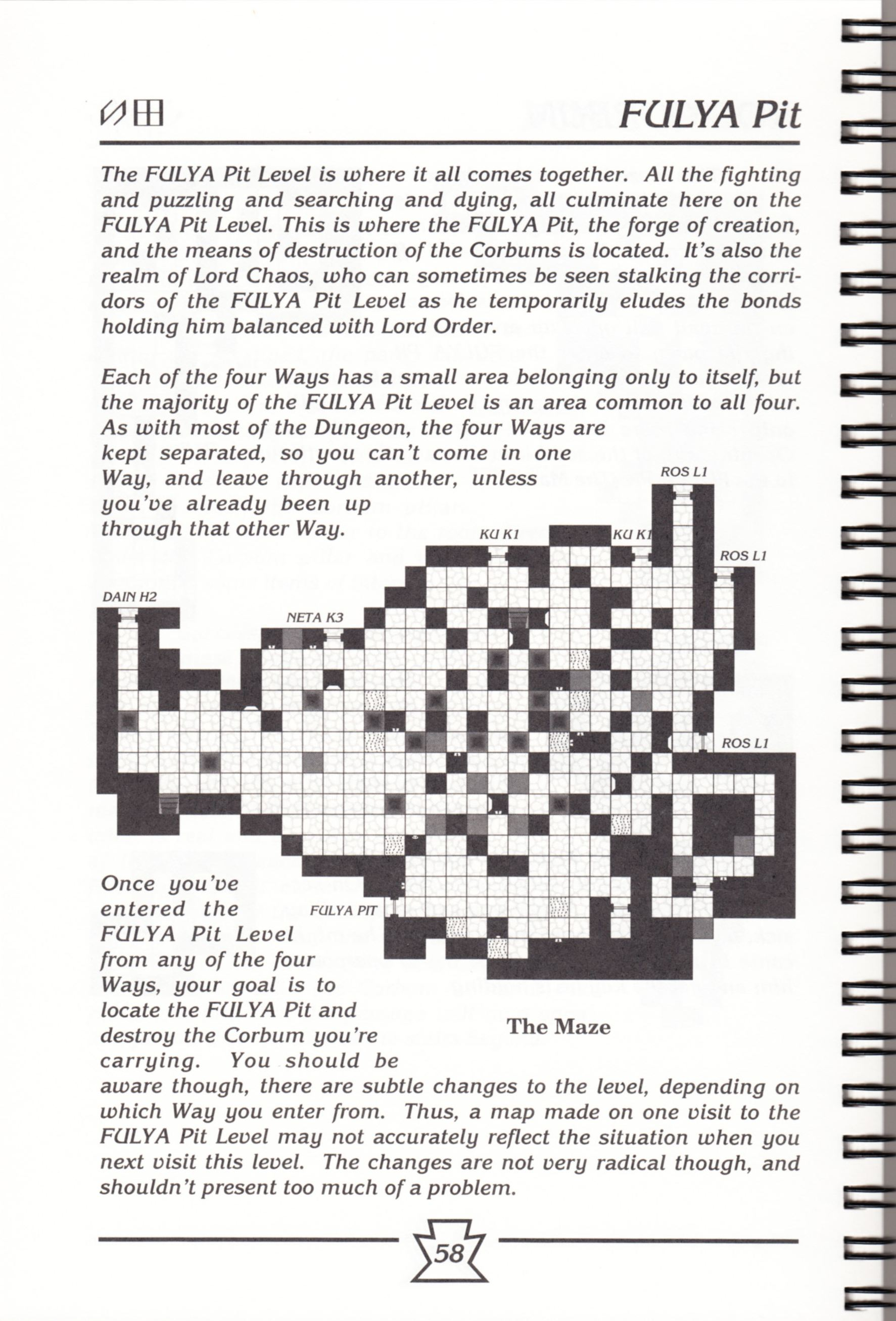 Hint Book - Chaos Strikes Back Adventurer's Handbook - US - Page 064 - Scan