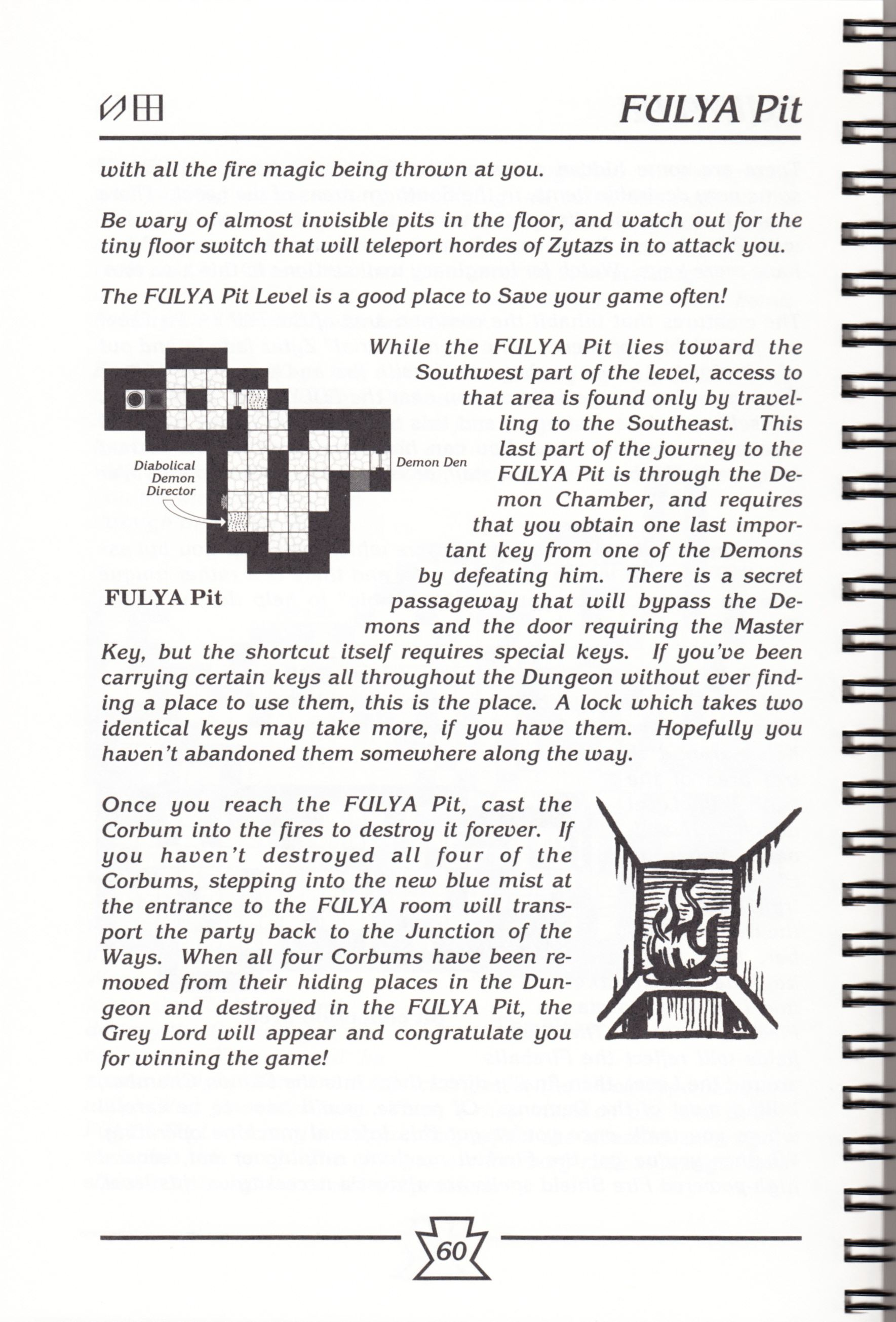 Hint Book - Chaos Strikes Back Adventurer's Handbook - US - Page 066 - Scan