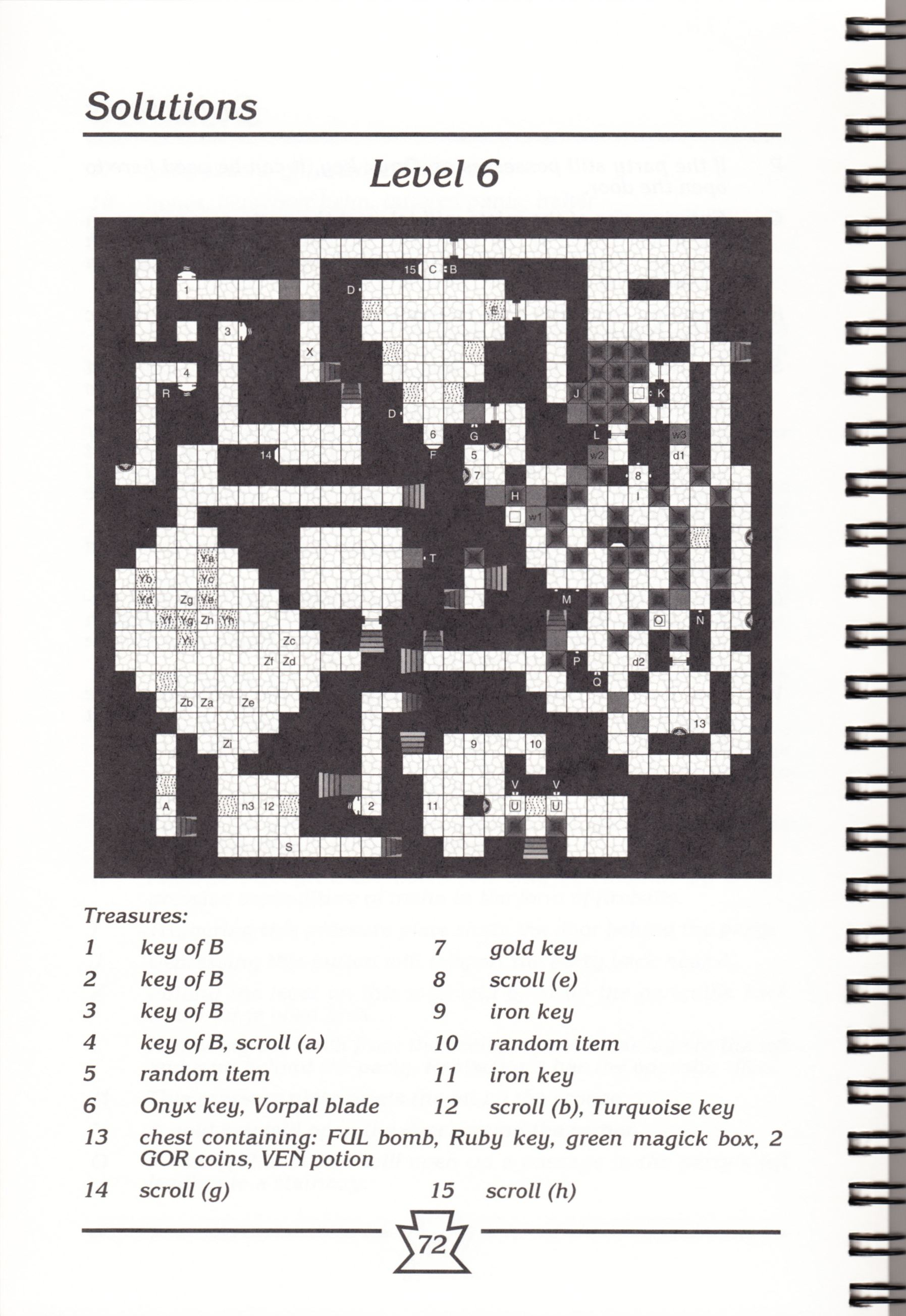 Hint Book - Chaos Strikes Back Adventurer's Handbook - US - Page 078 - Scan