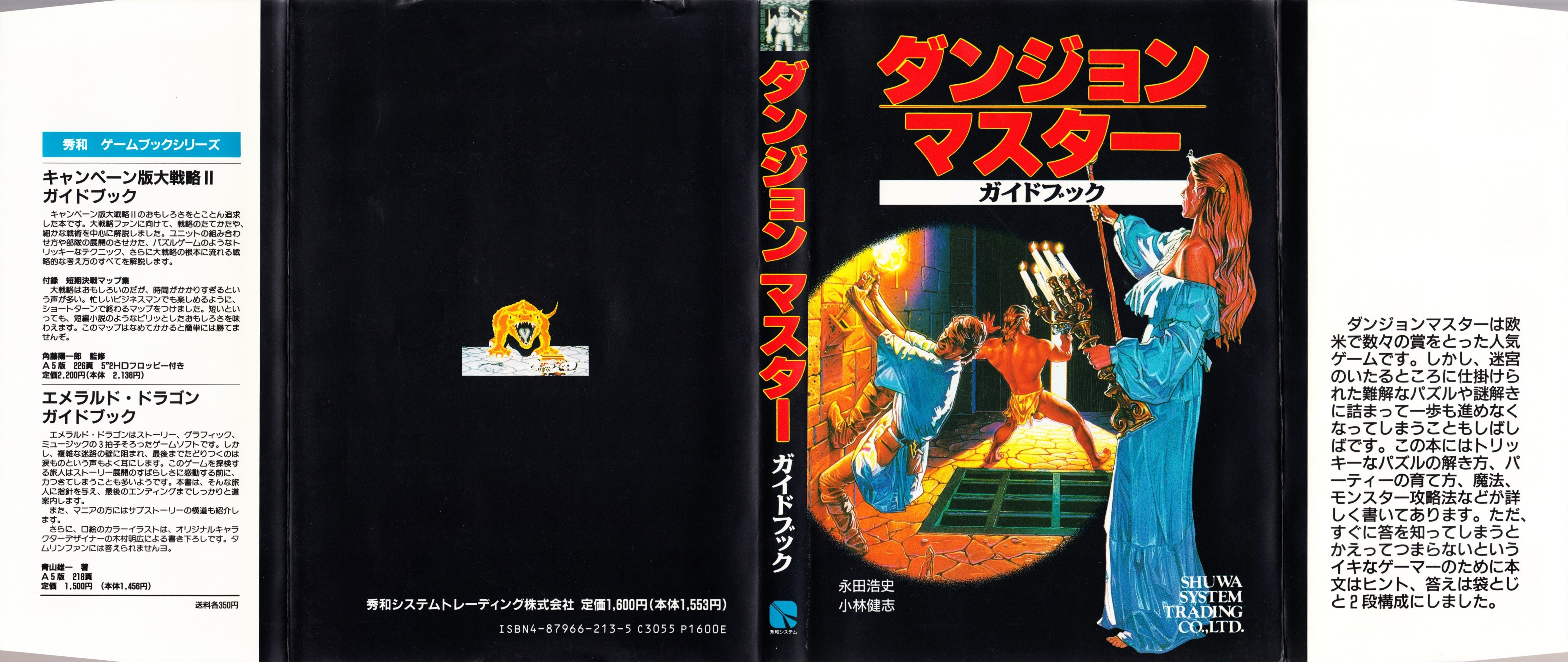 Hint Book - Dungeon Master Guide Book - JP - Dust Jacket - Front - Scan
