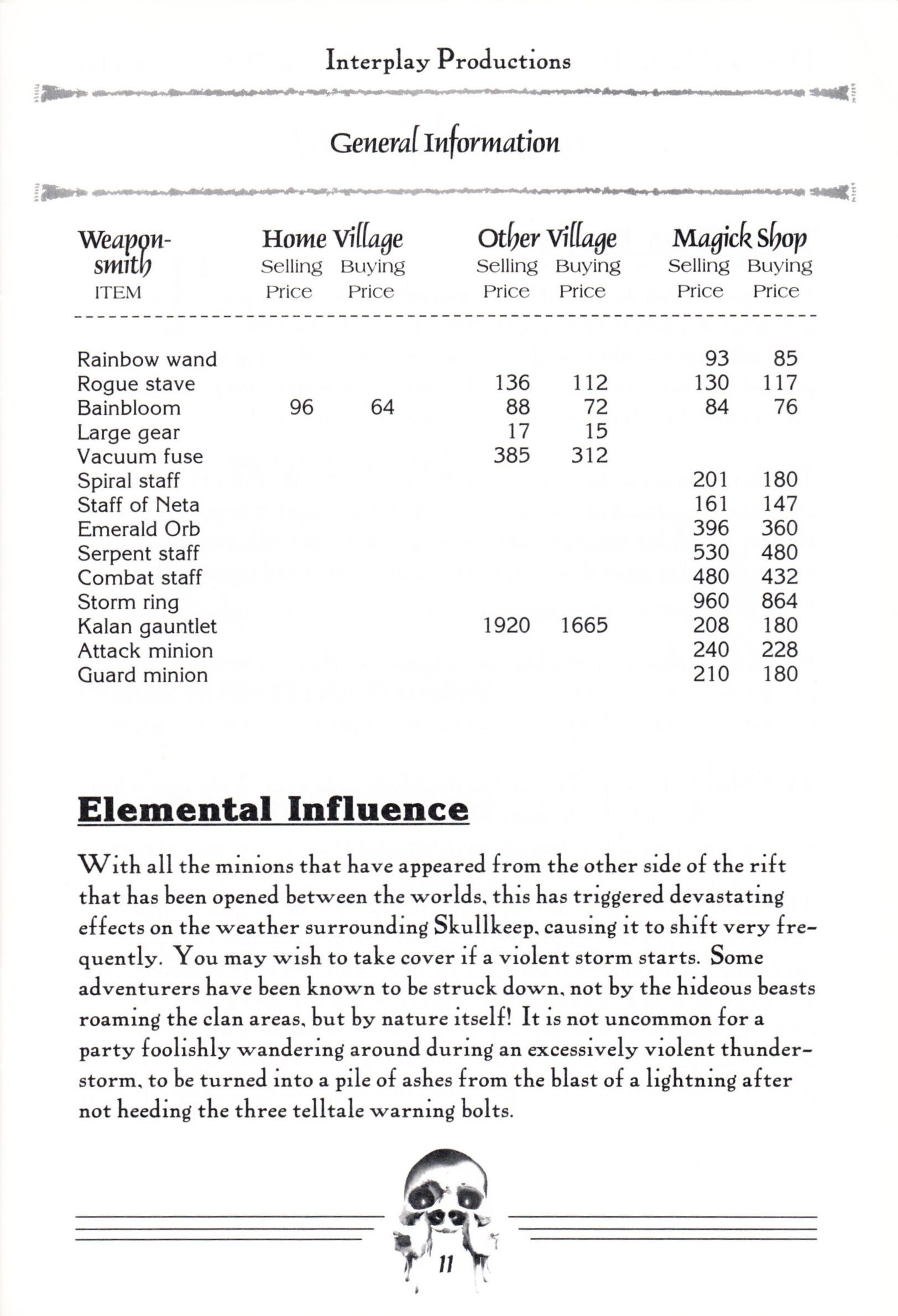 Hint Book - Dungeon Master II Clue Book - US - Page 013 - Scan