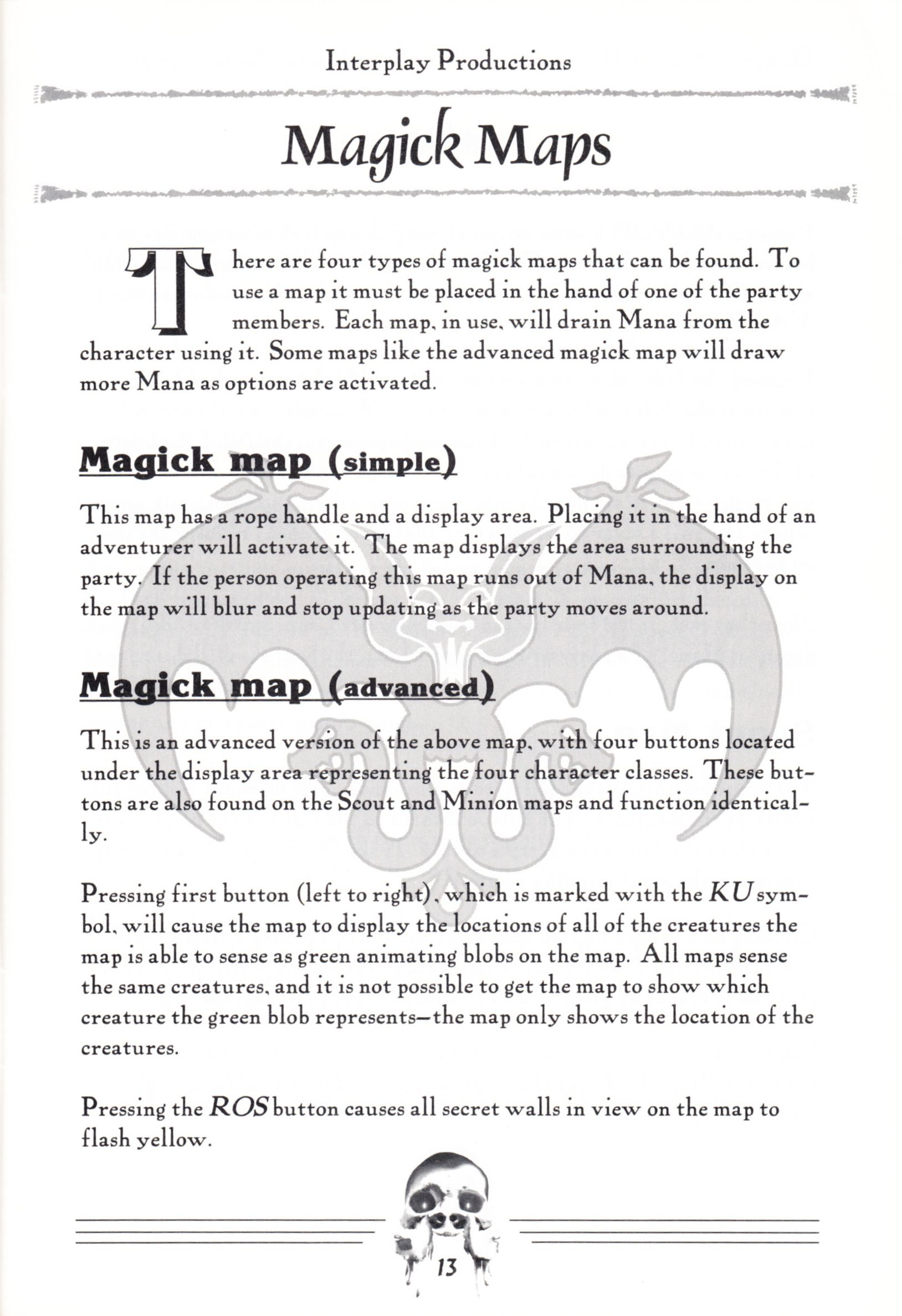 Hint Book - Dungeon Master II Clue Book - US - Page 015 - Scan