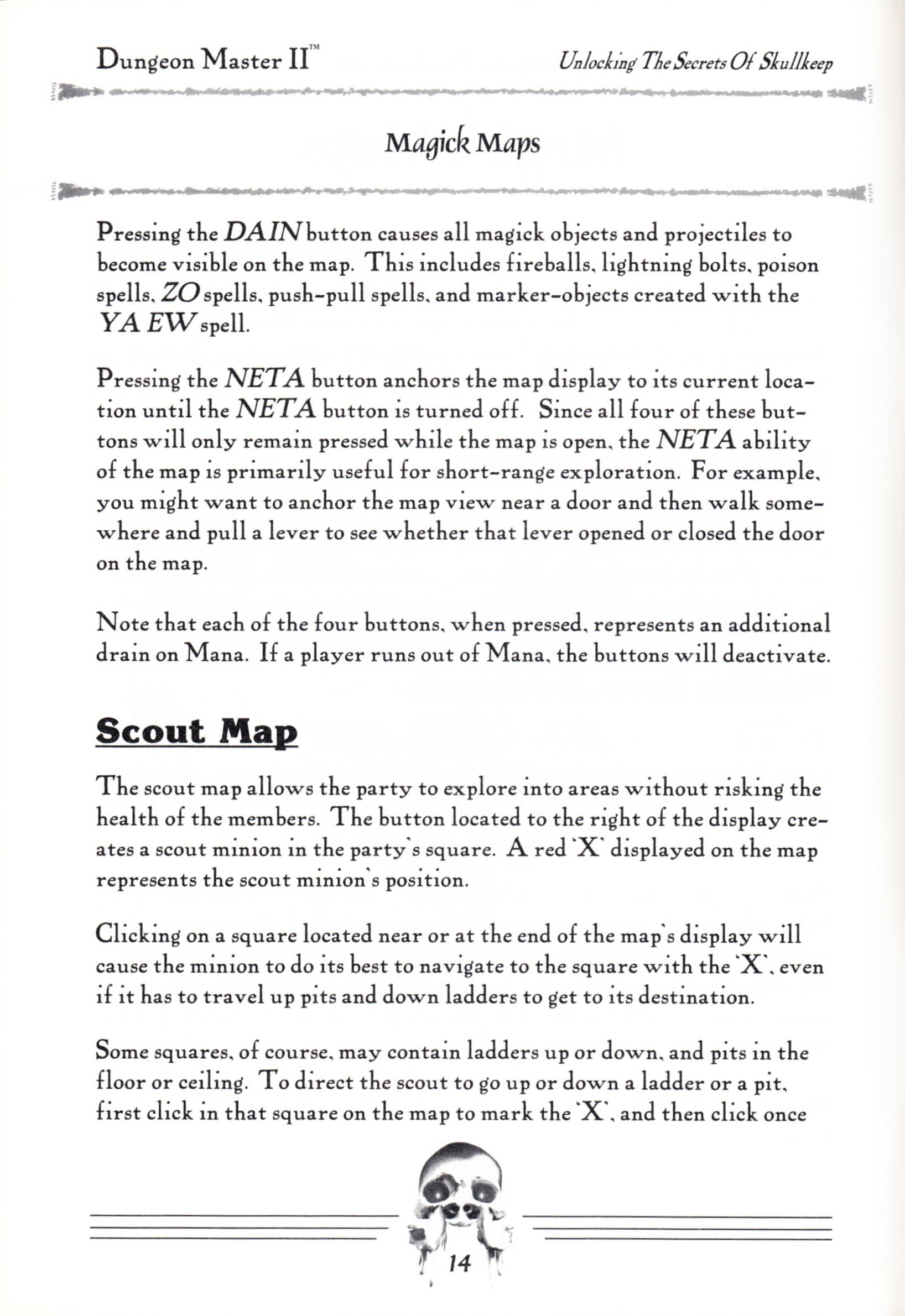 Hint Book - Dungeon Master II Clue Book - US - Page 016 - Scan
