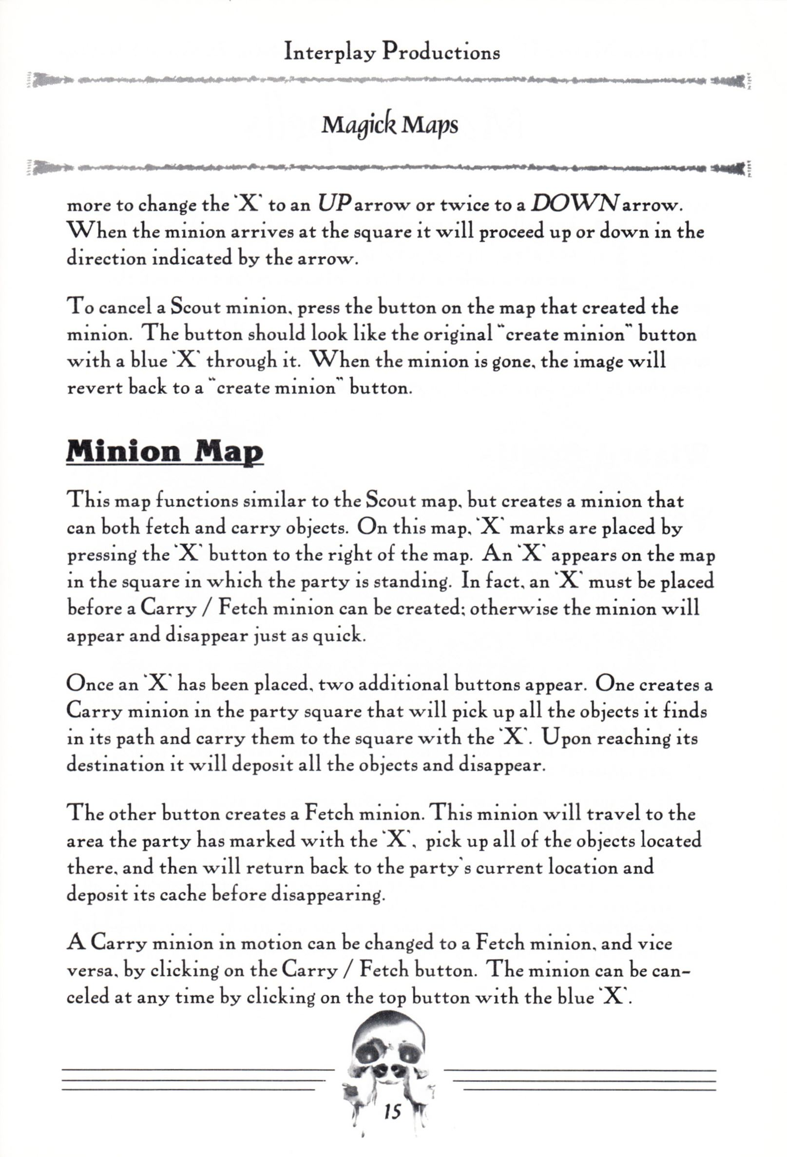 Hint Book - Dungeon Master II Clue Book - US - Page 017 - Scan