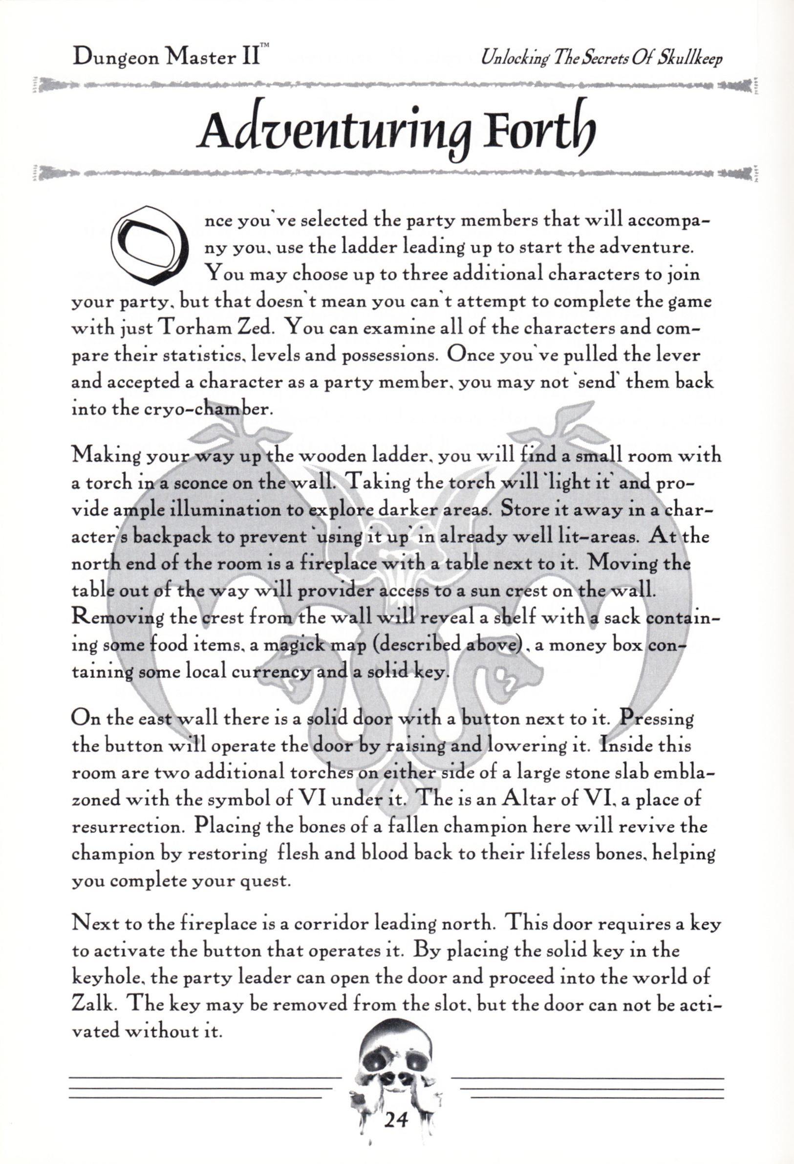 Hint Book - Dungeon Master II Clue Book - US - Page 026 - Scan