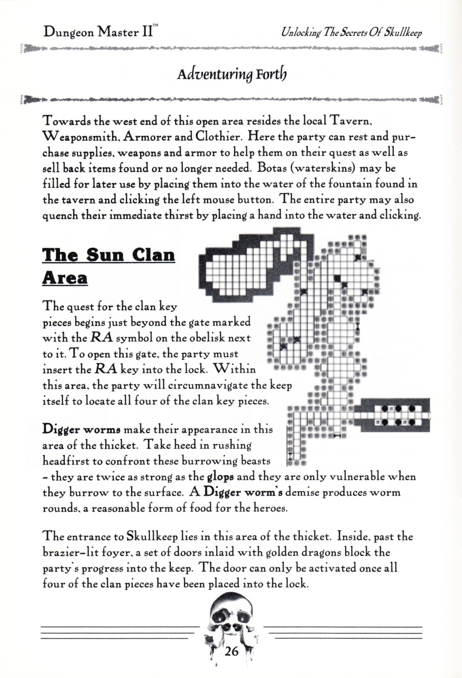 Hint Book - Dungeon Master II Clue Book - US - Page 028 - Scan