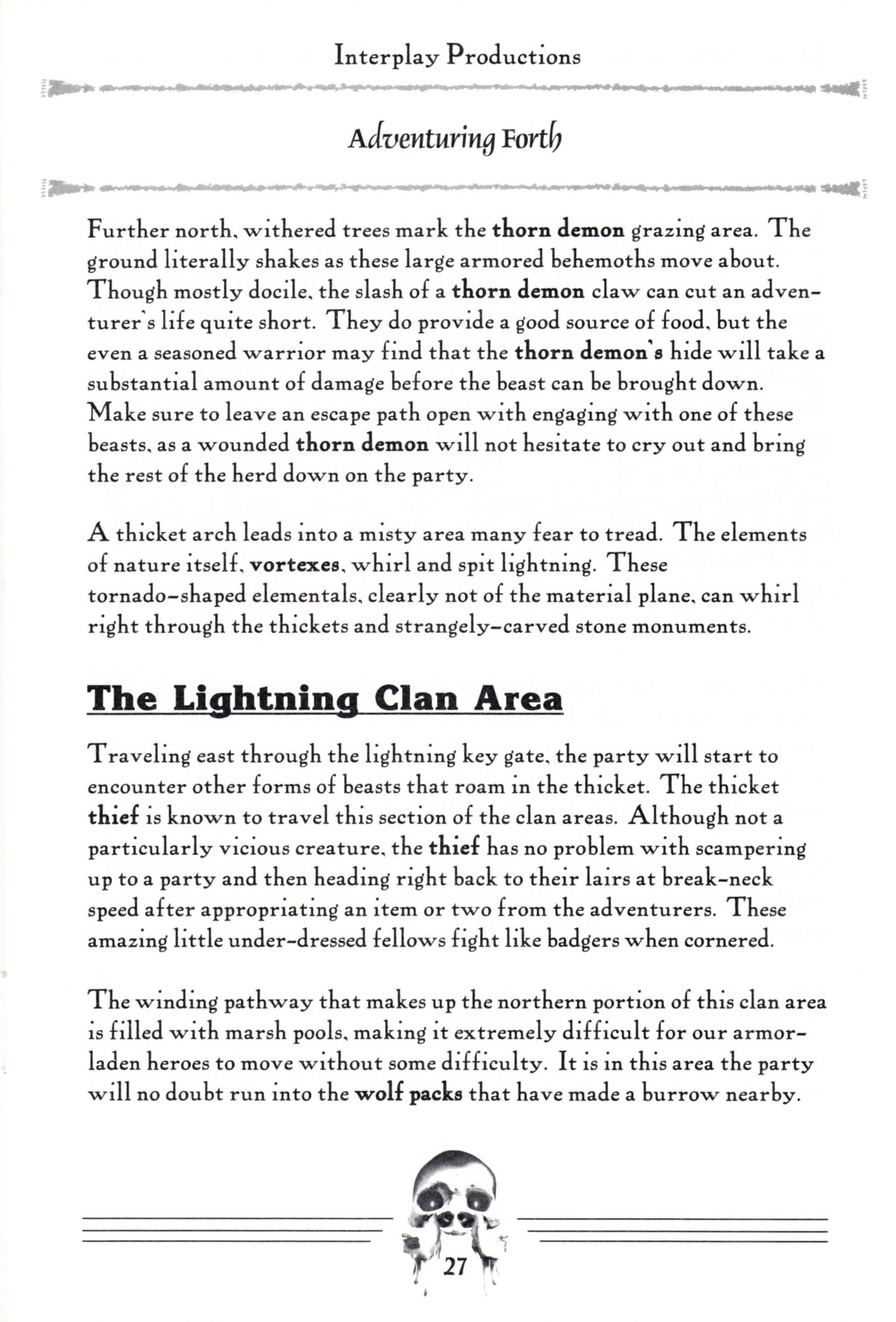 Hint Book - Dungeon Master II Clue Book - US - Page 029 - Scan