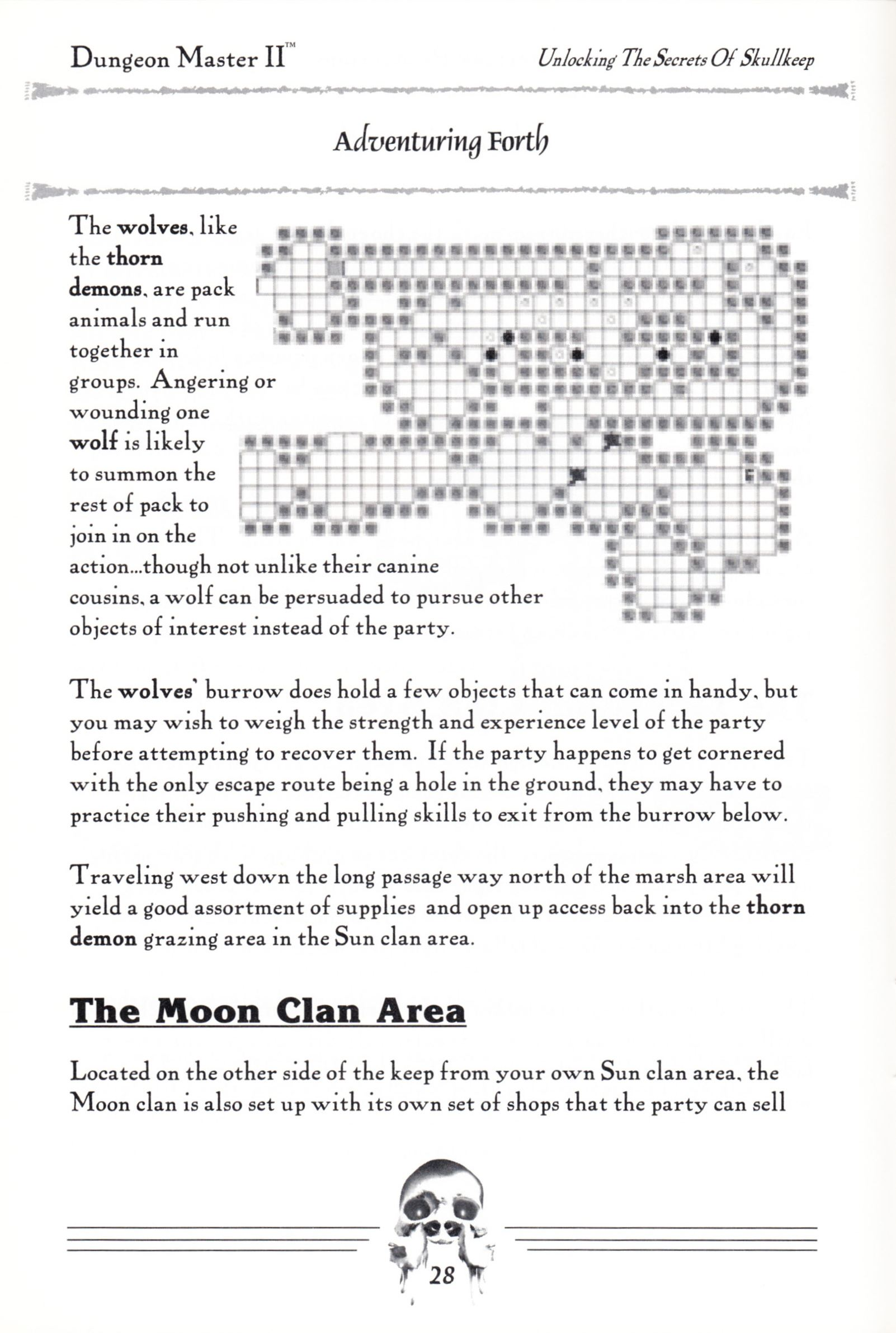 Hint Book - Dungeon Master II Clue Book - US - Page 030 - Scan