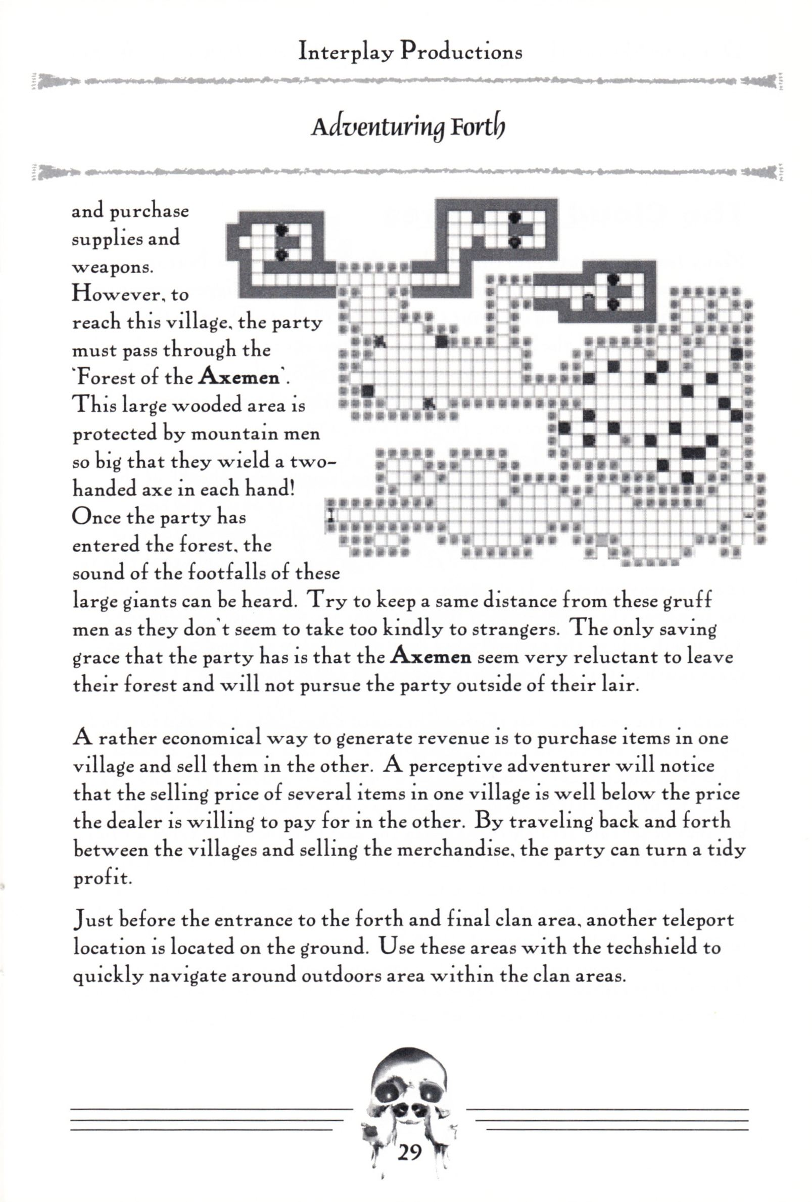 Hint Book - Dungeon Master II Clue Book - US - Page 031 - Scan