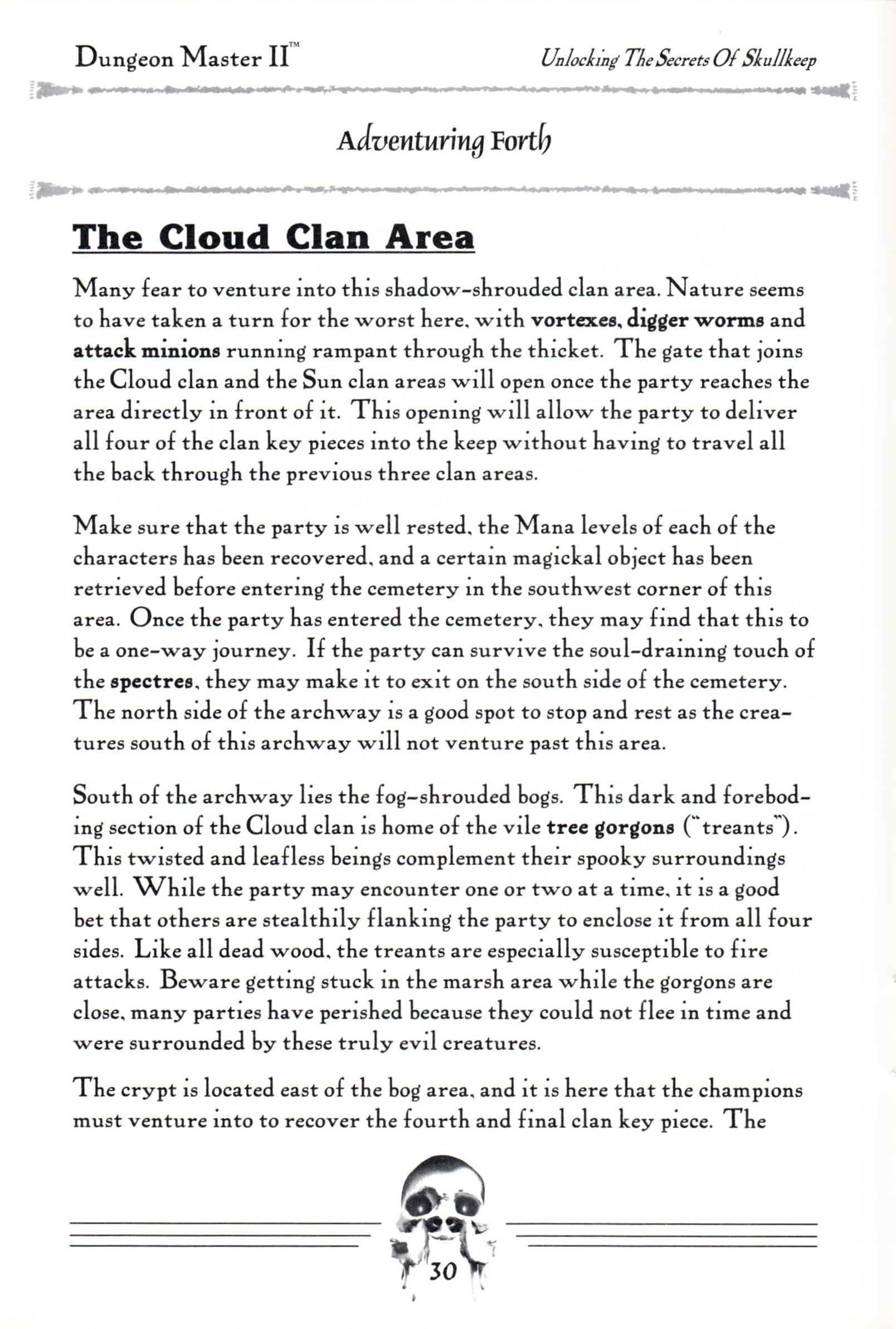 Hint Book - Dungeon Master II Clue Book - US - Page 032 - Scan
