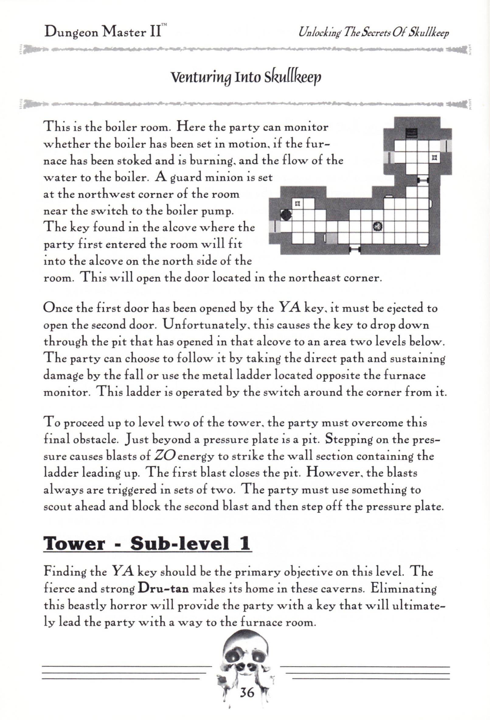 Hint Book - Dungeon Master II Clue Book - US - Page 038 - Scan