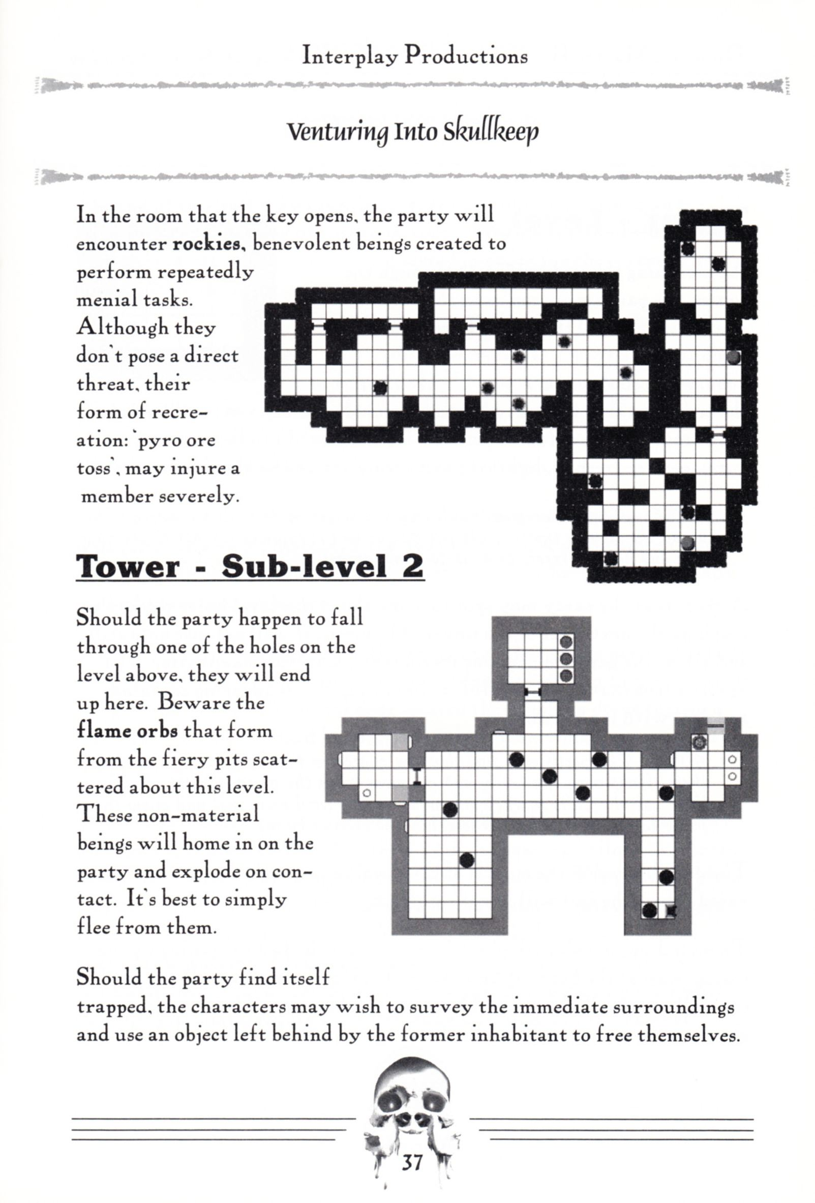 Hint Book - Dungeon Master II Clue Book - US - Page 039 - Scan