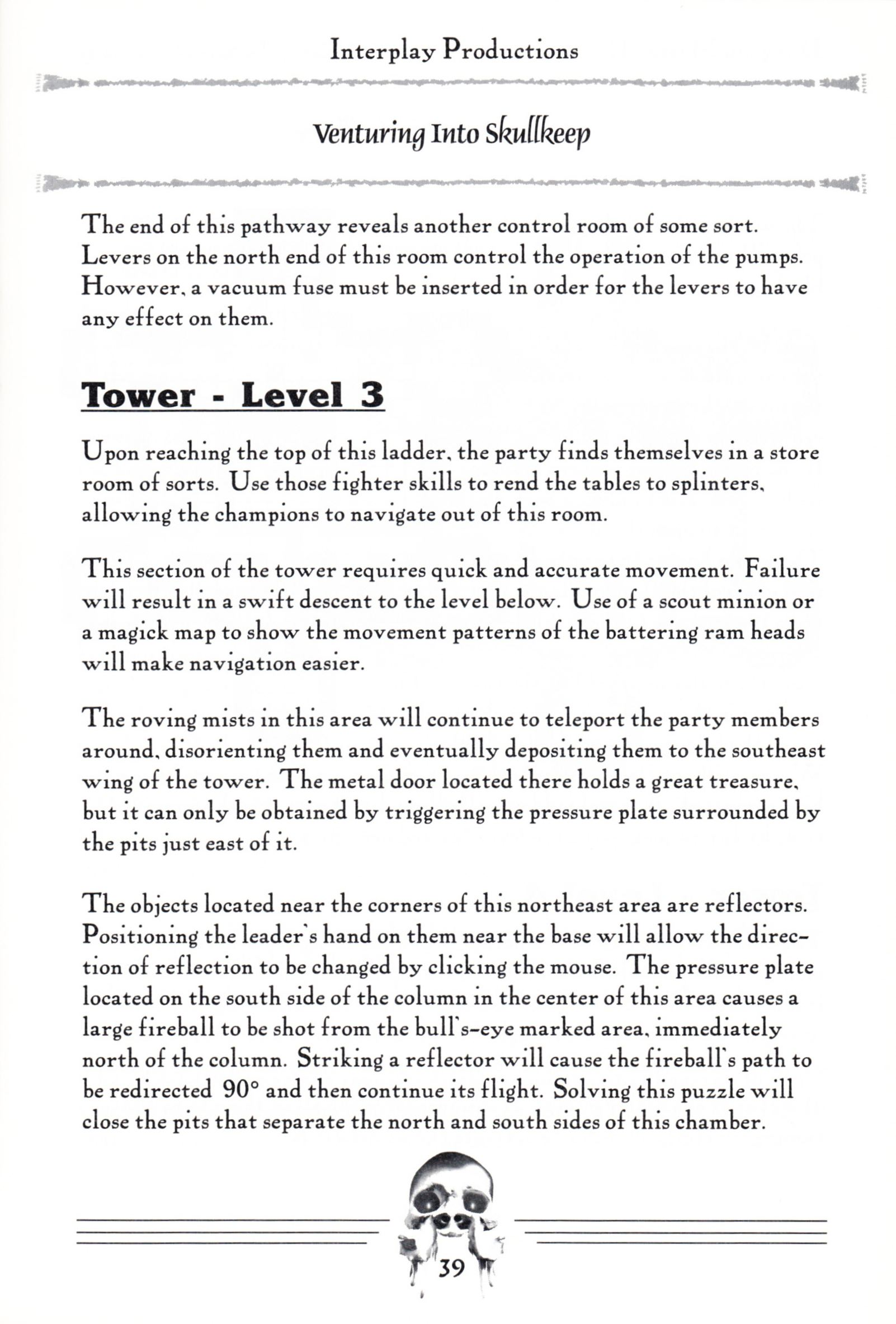 Hint Book - Dungeon Master II Clue Book - US - Page 041 - Scan