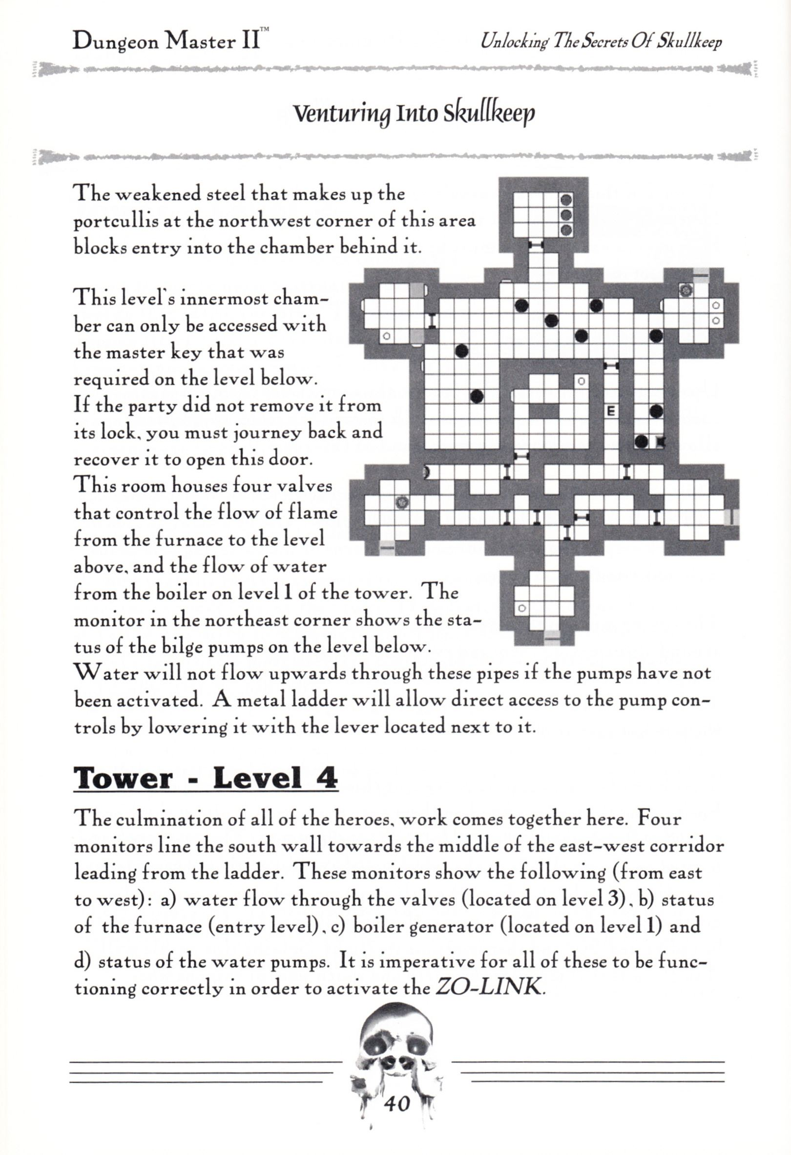 Hint Book - Dungeon Master II Clue Book - US - Page 042 - Scan