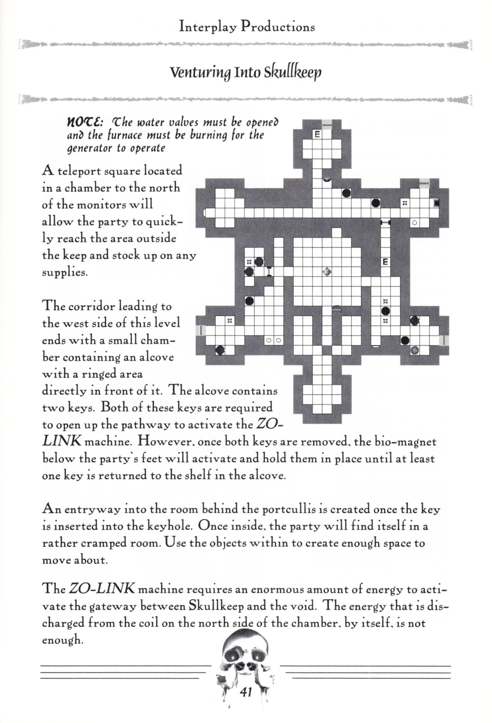 Hint Book - Dungeon Master II Clue Book - US - Page 043 - Scan