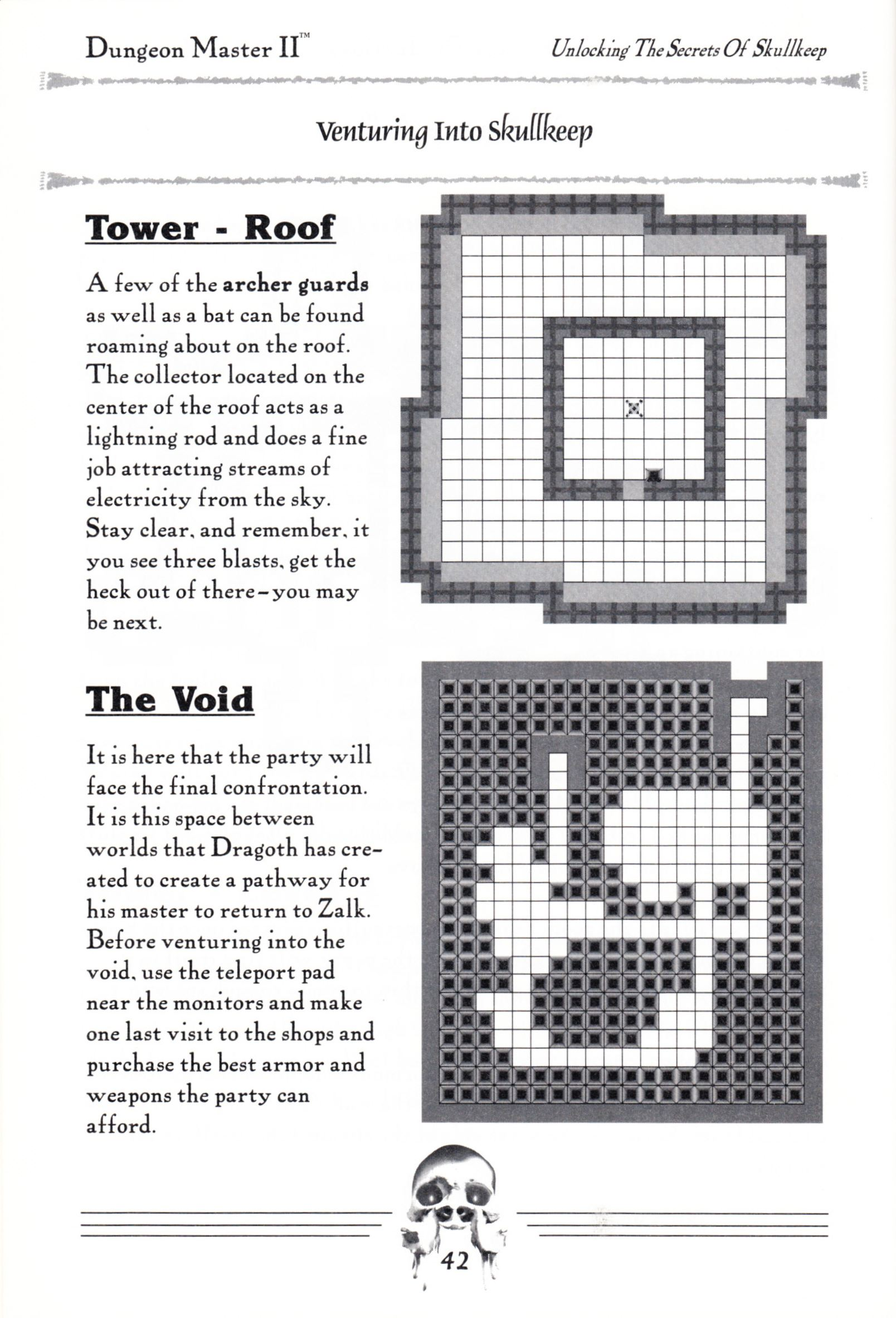 Hint Book - Dungeon Master II Clue Book - US - Page 044 - Scan