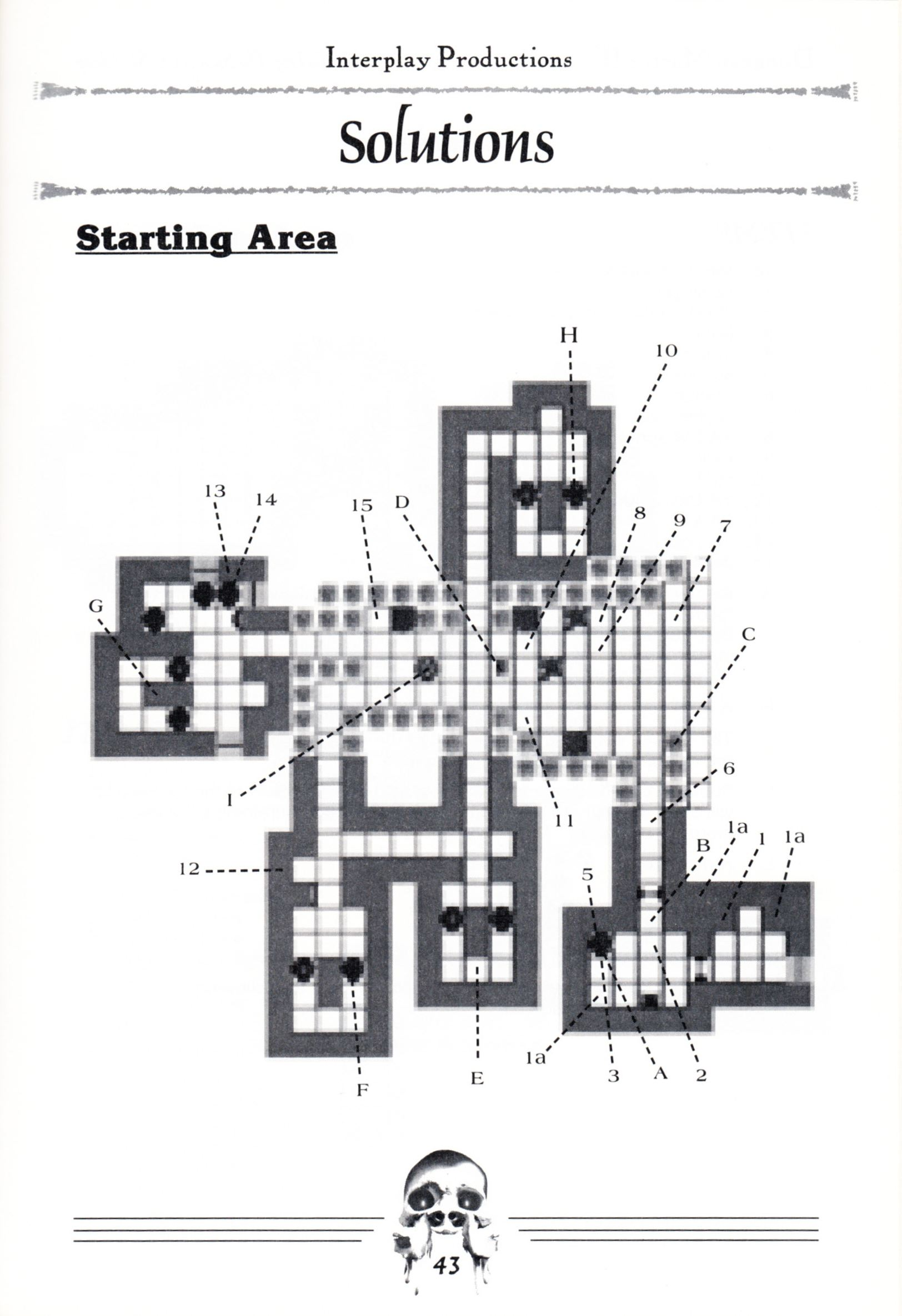 Hint Book - Dungeon Master II Clue Book - US - Page 045 - Scan