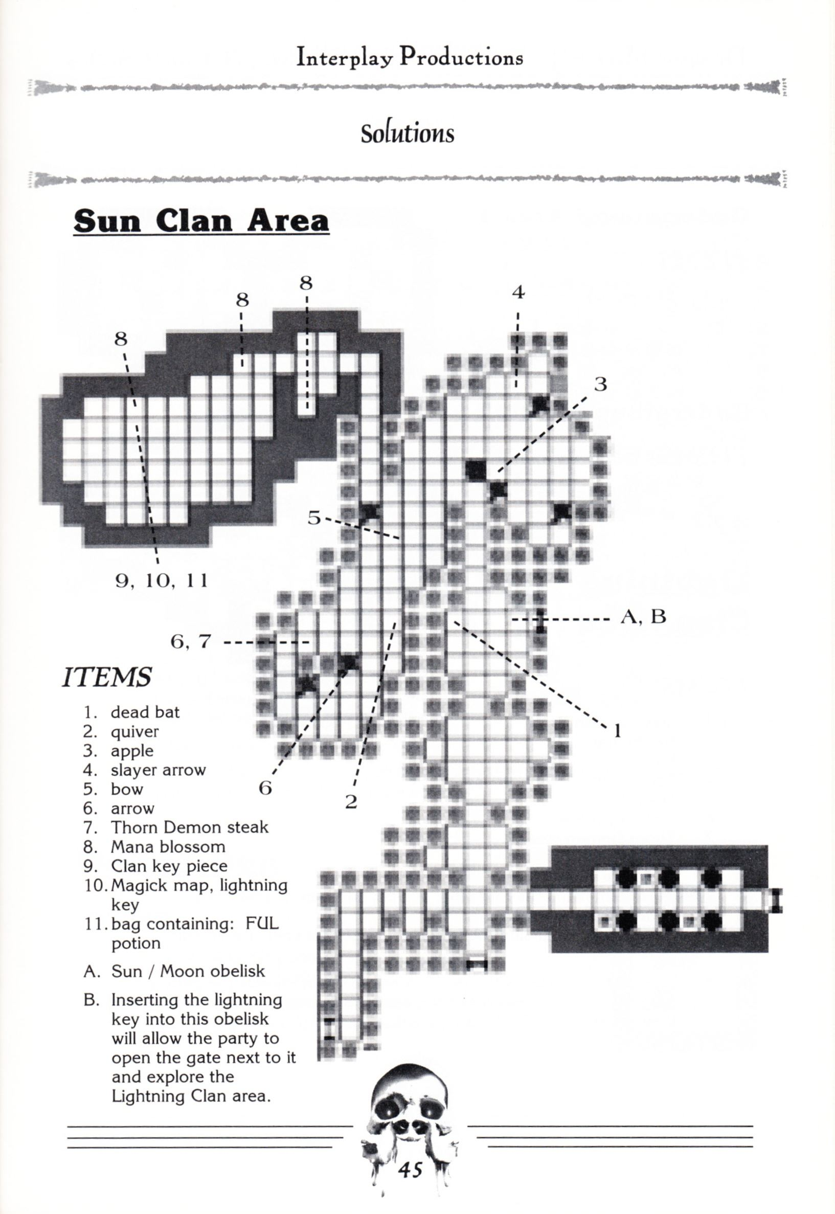 Hint Book - Dungeon Master II Clue Book - US - Page 047 - Scan