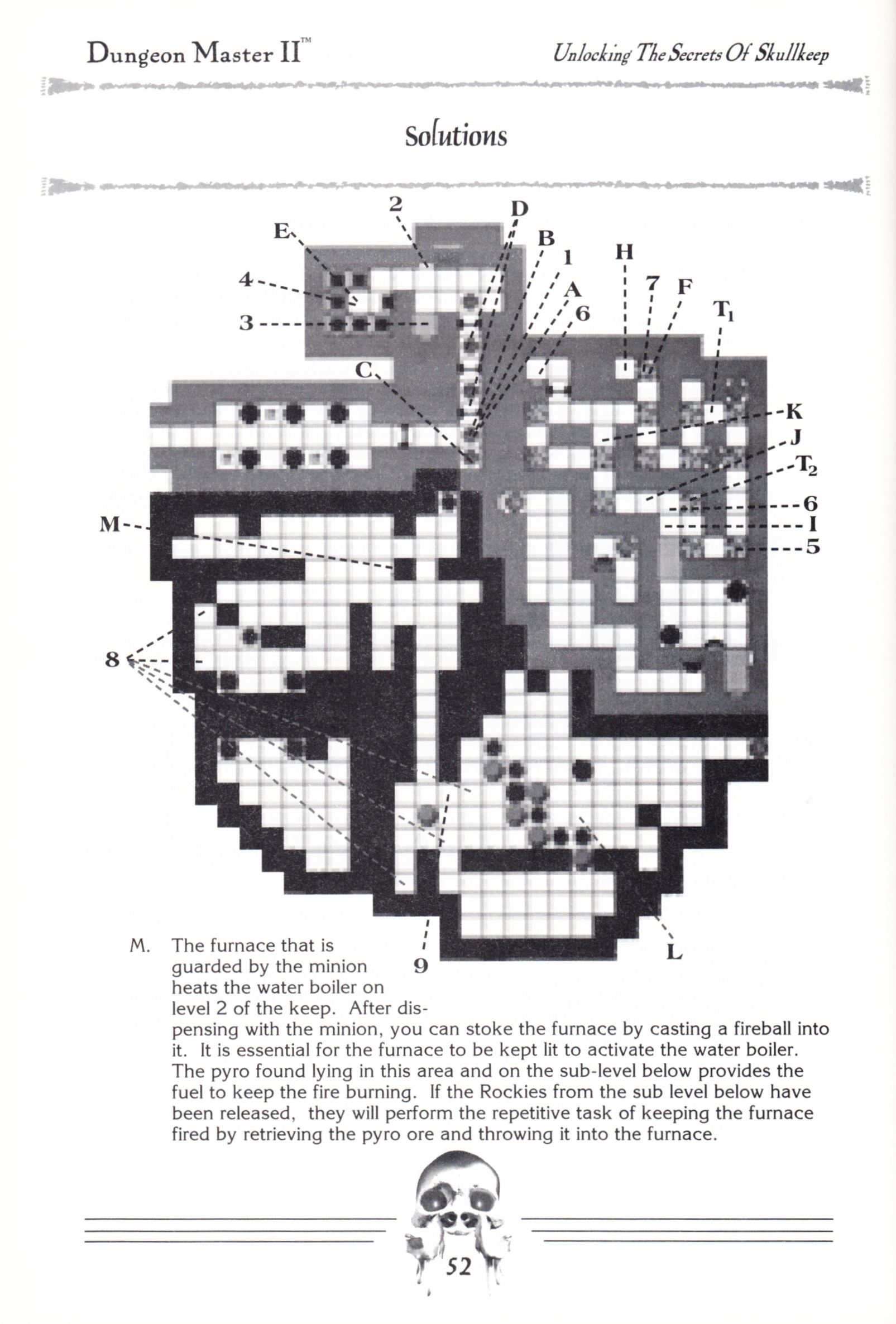 Hint Book - Dungeon Master II Clue Book - US - Page 054 - Scan