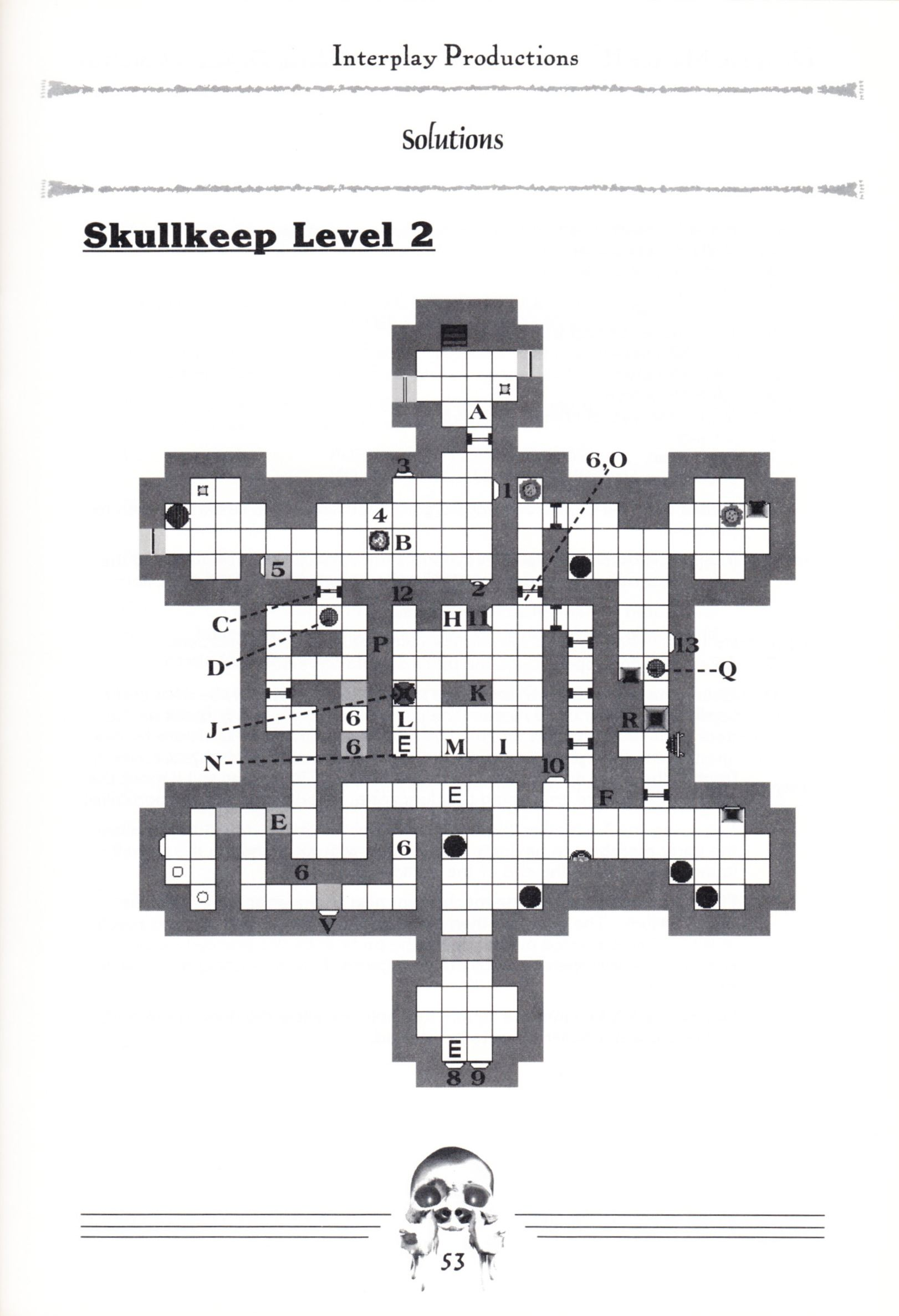 Hint Book - Dungeon Master II Clue Book - US - Page 055 - Scan