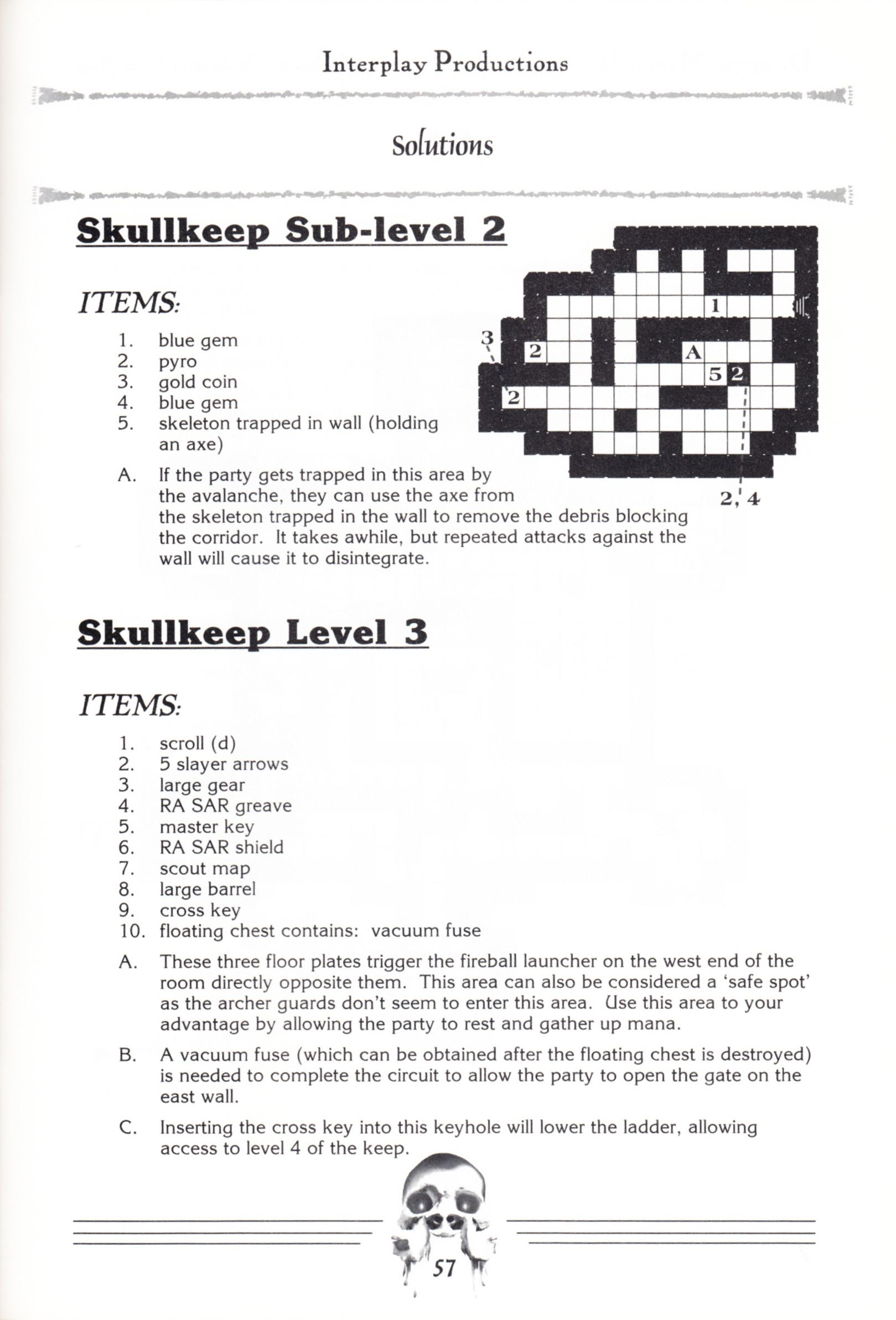 Hint Book - Dungeon Master II Clue Book - US - Page 059 - Scan