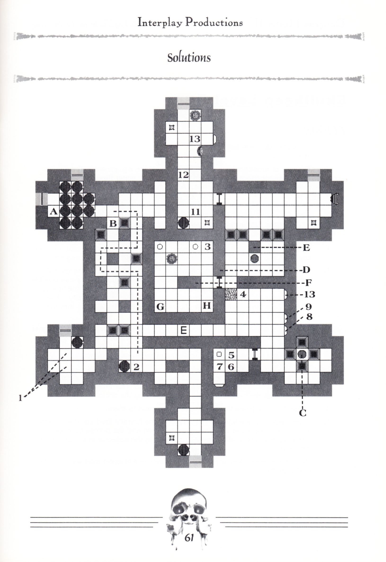 Hint Book - Dungeon Master II Clue Book - US - Page 063 - Scan
