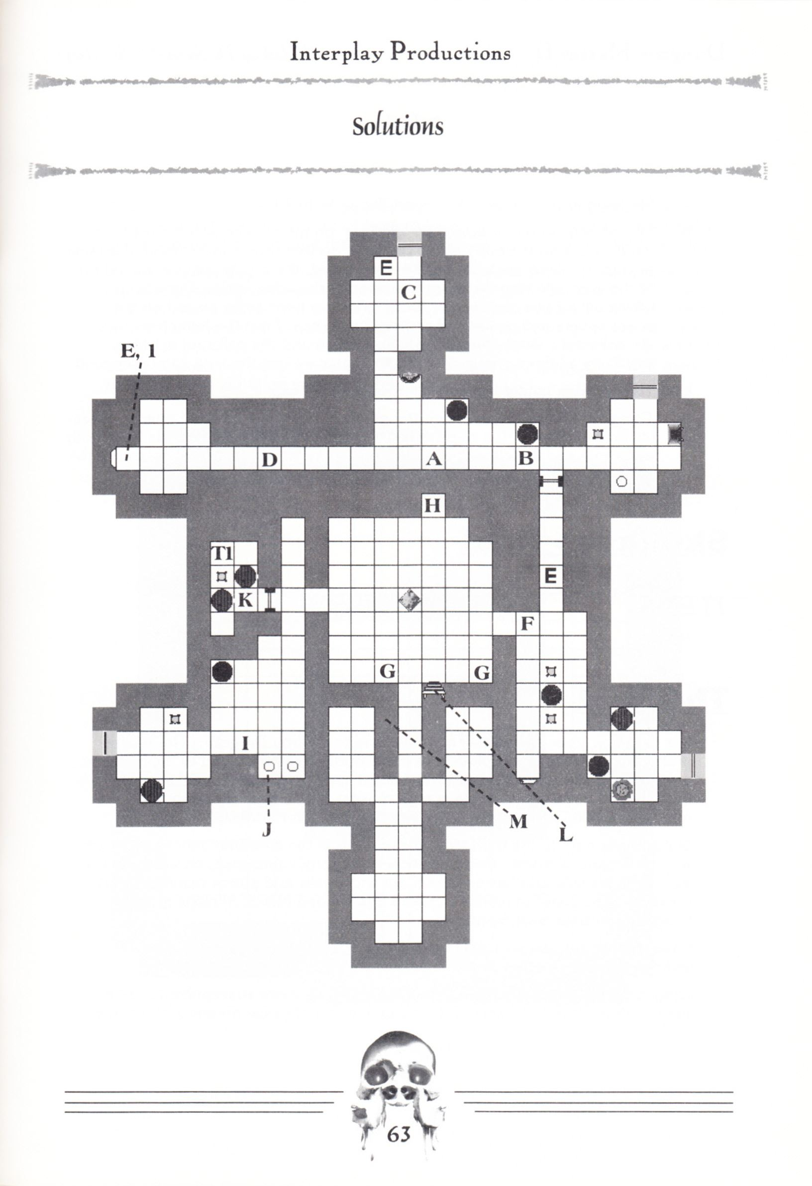 Hint Book - Dungeon Master II Clue Book - US - Page 065 - Scan