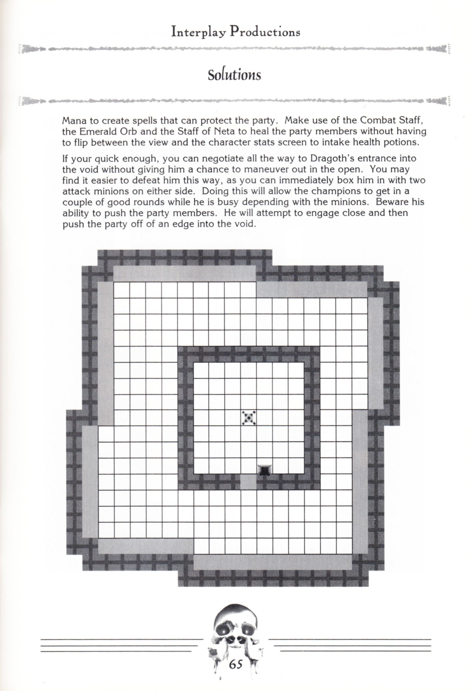 Hint Book - Dungeon Master II Clue Book - US - Page 067 - Scan