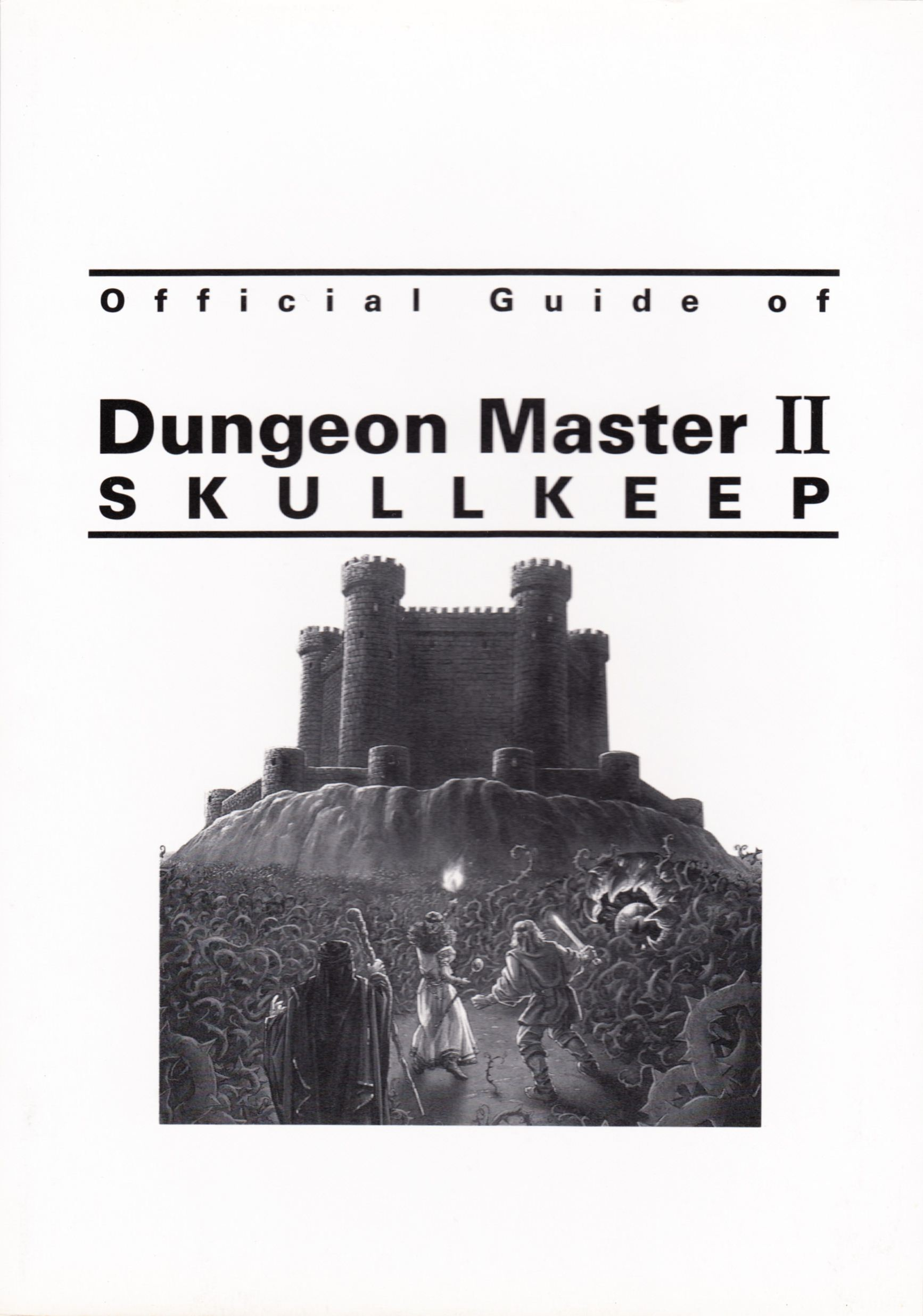 Hint Book - Official Guide Of Dungeon Master II Skullkeep - JP - Cover - Front - Scan