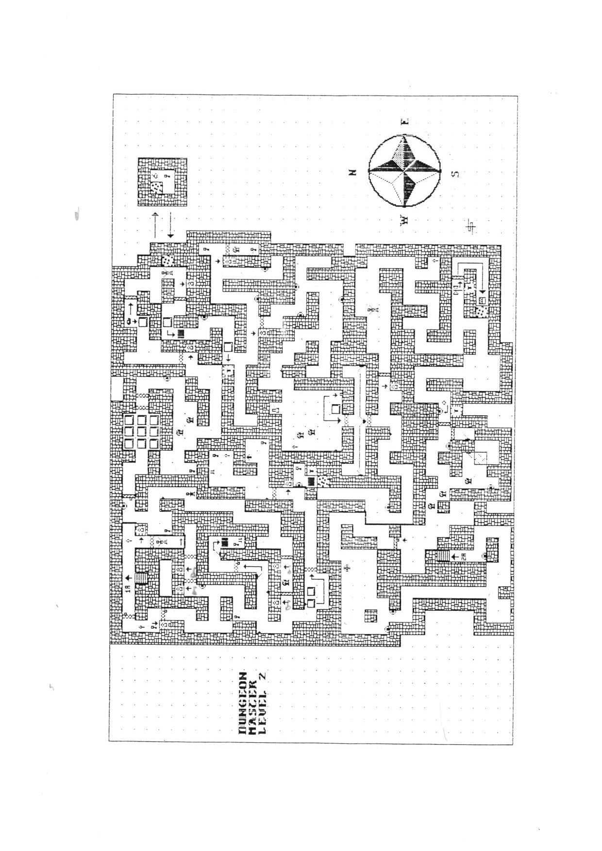 Hint Book - The Dungeon Master HandBook - UK - Page 012 - Scan