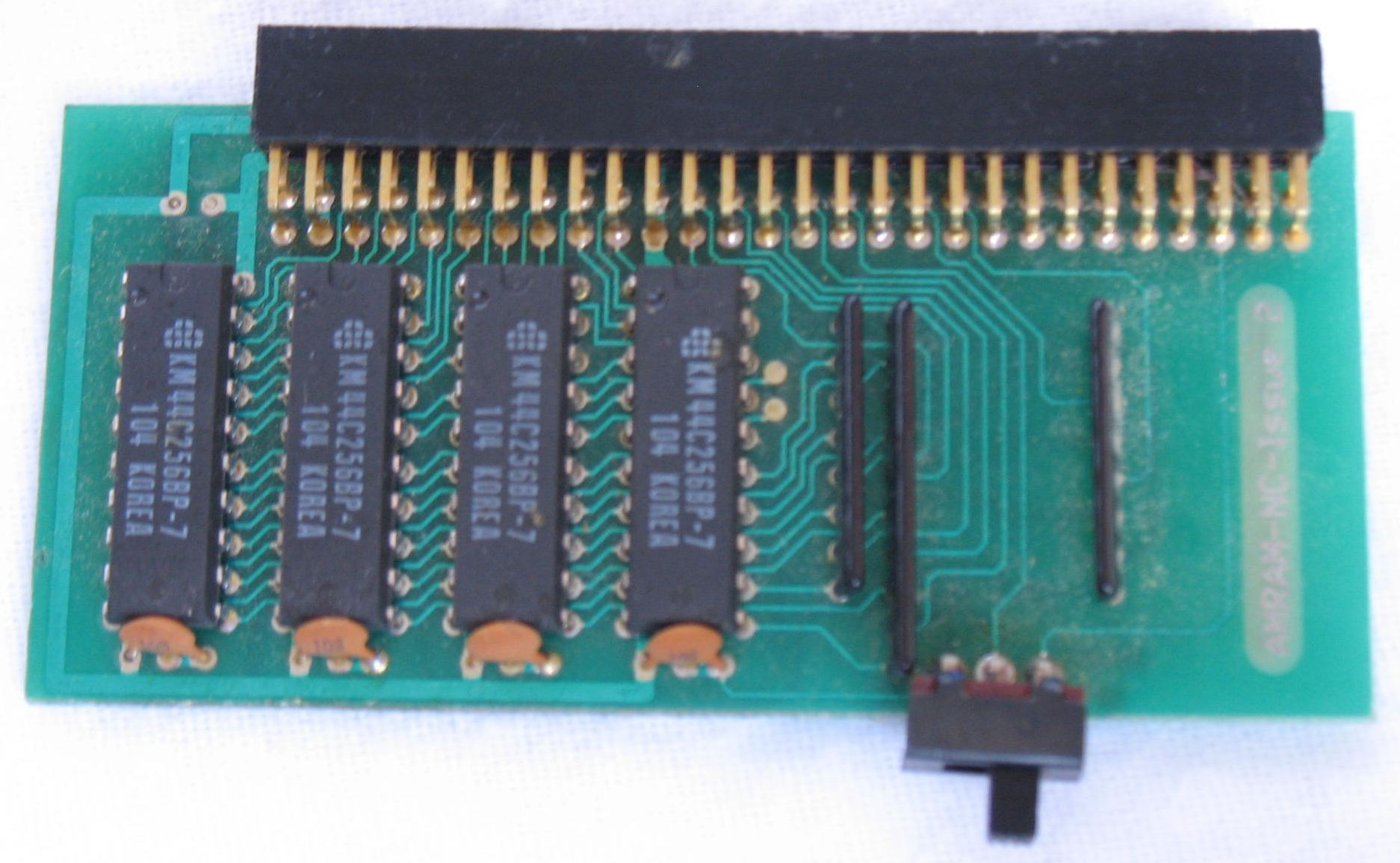 Memory Card - AmiRAM 1000 - EU - Amiga - Without Clock DM CSB - Memory Card - Front - Photo
