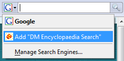 Search in Firefox