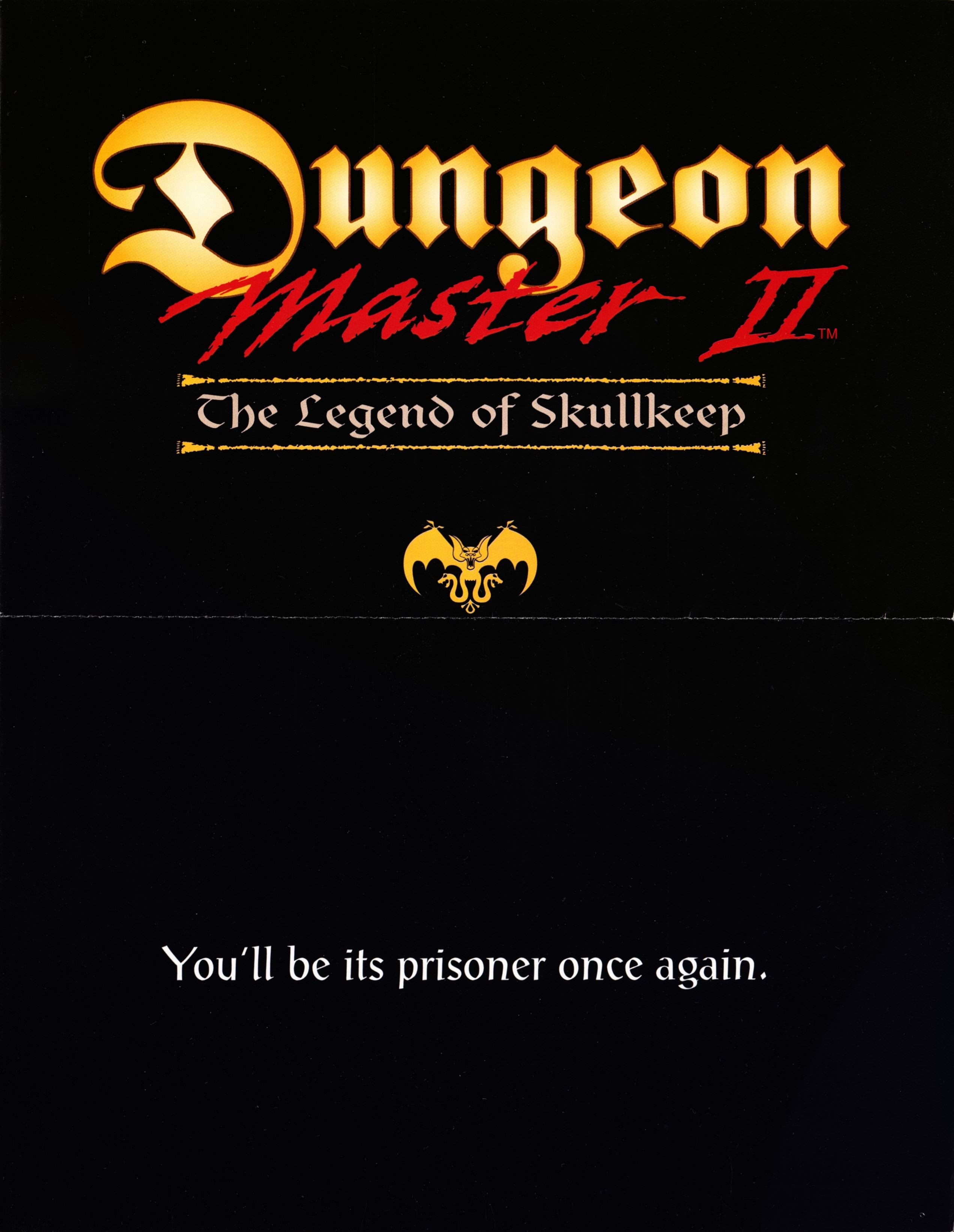 Retailer Kit - Dungeon Master II - US - PC Flyer - Page 001 - Scan