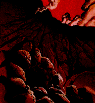 Theron's Quest for TurboGrafx / PC Engine Screenshot - Den Of Shadodan