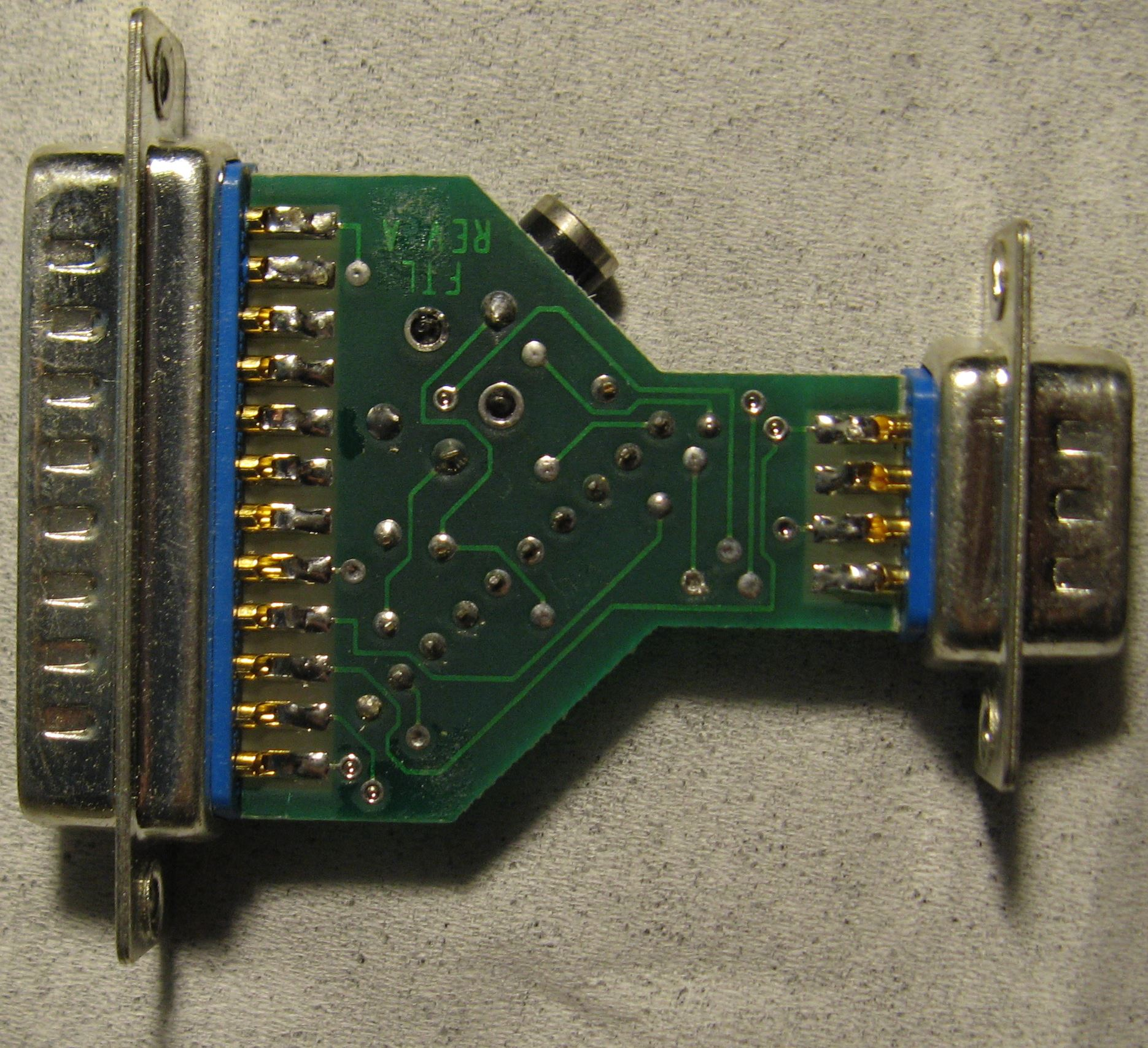 FTL Sound Adapter - Printed Circuit - Back