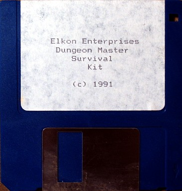 The Dungeon Master Survival Kit for Amiga - Disk