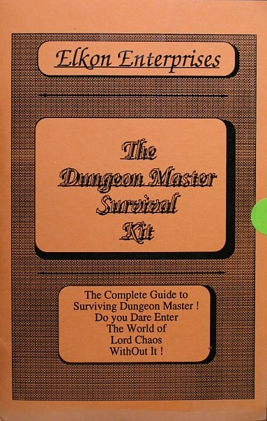 The Dungeon Master Survival Kit for Amiga - Front Cover