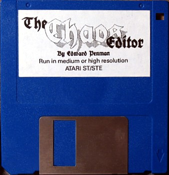 The Chaos Editor - Disk