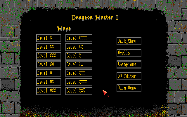 The Dungeon Master Survival Kit for Amiga