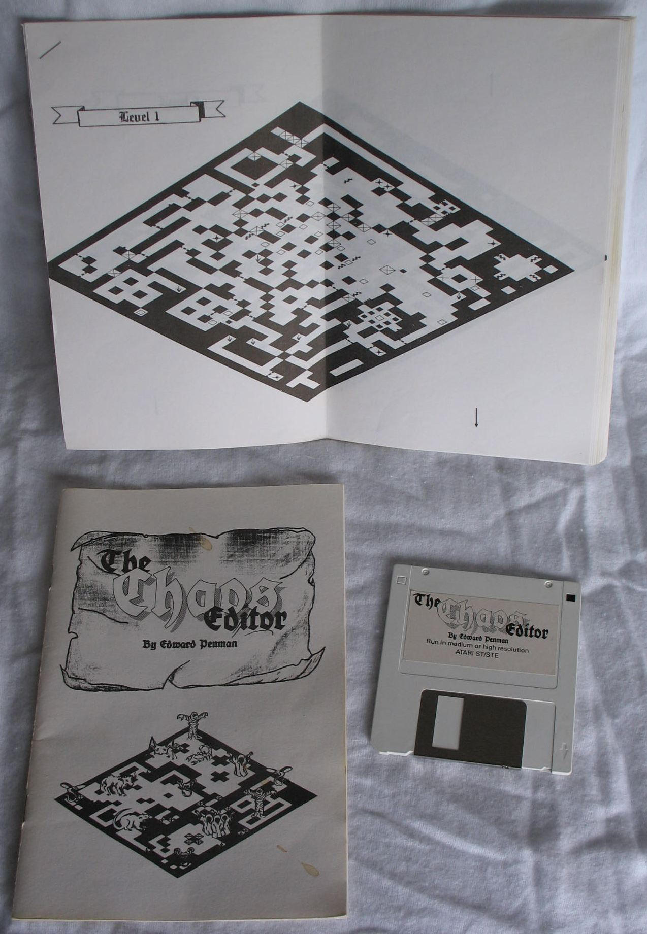 Tool - The Chaos Editor - UK - Atari ST - All - Overview - Photo